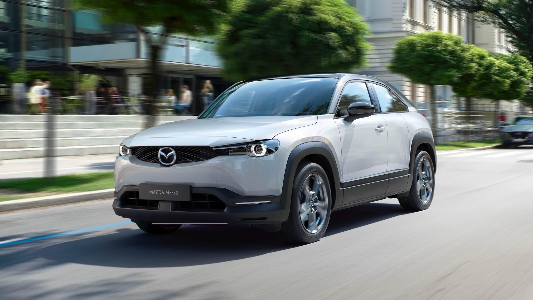 Mazda MX-30 elektrische SUV
