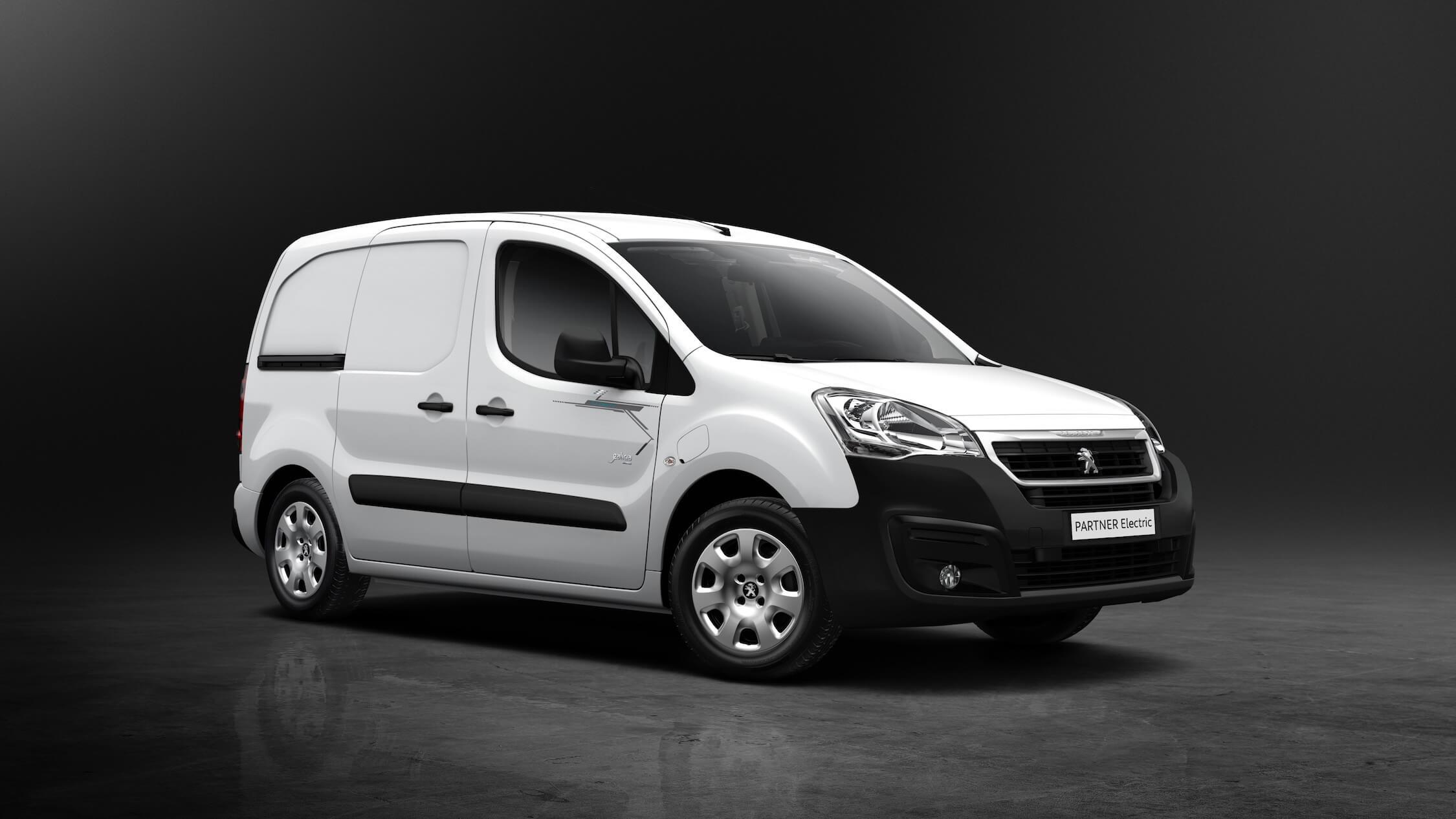Peugeot Partner elektrische bestelauto