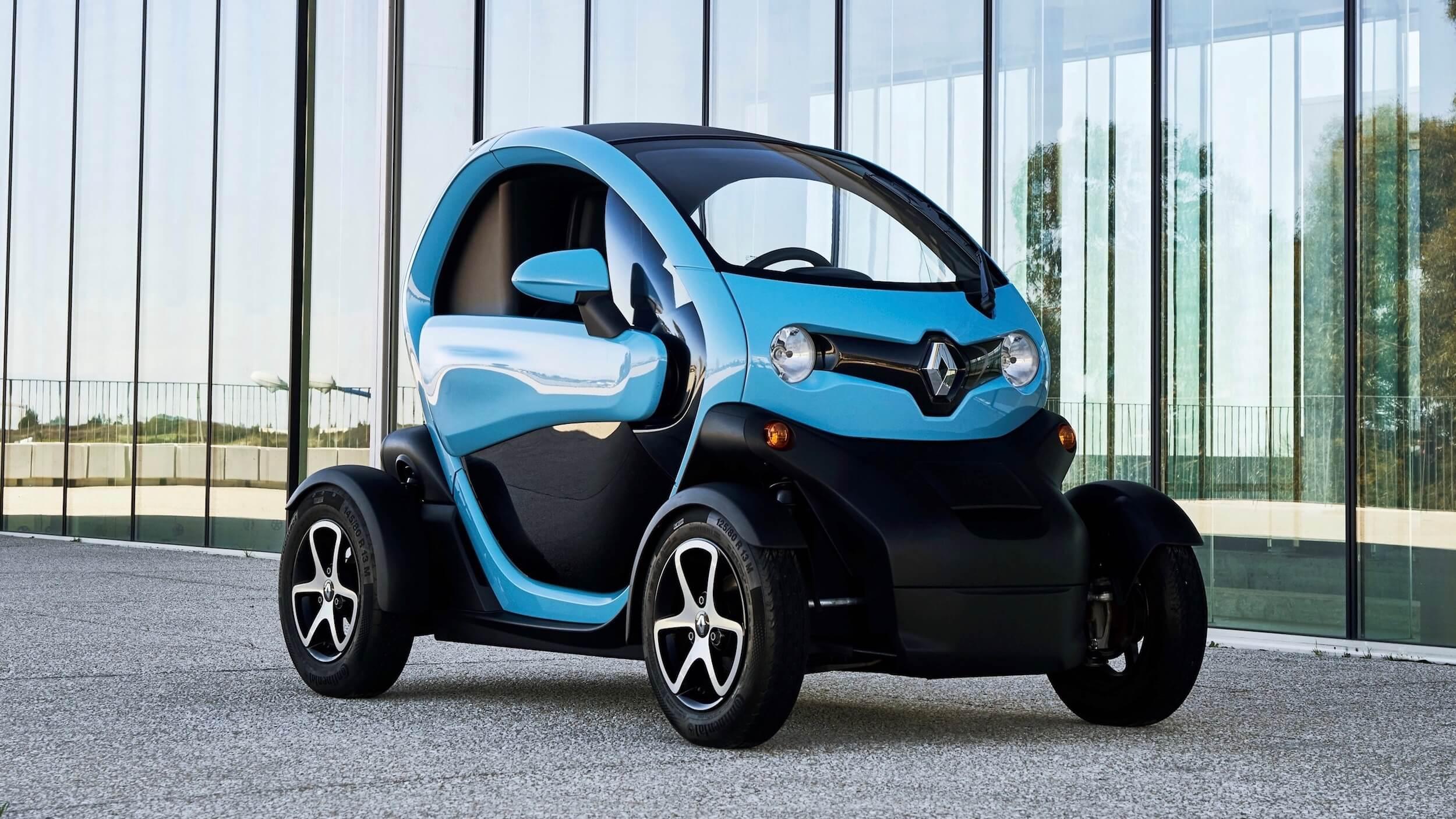 Renault Twizy blauw