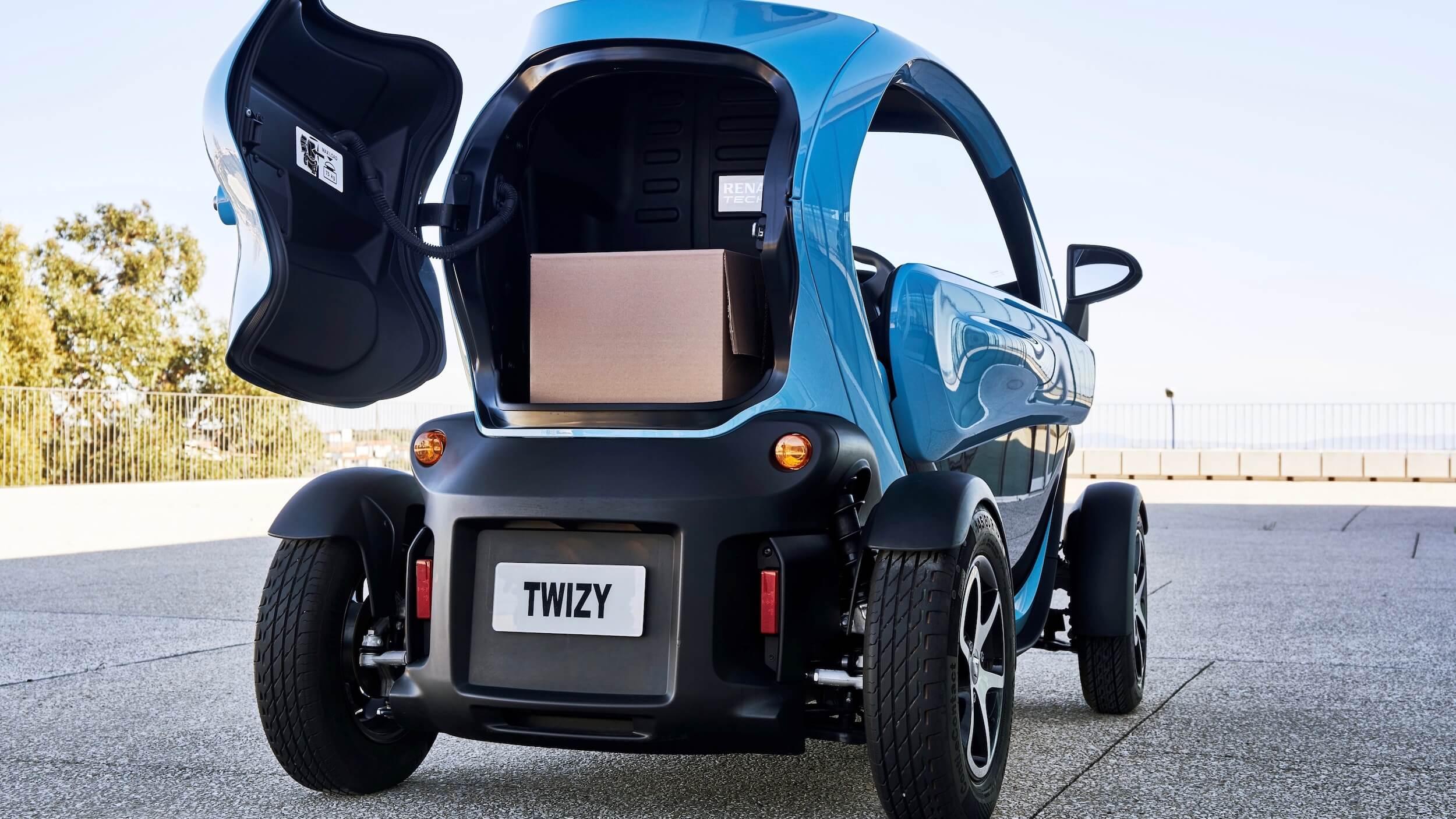 Renault Twizy cargo koffer