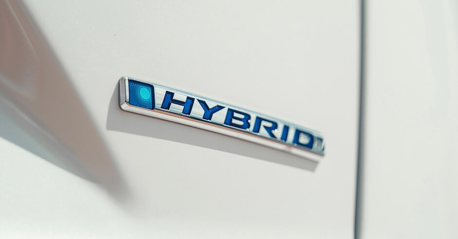 badge van hybride bestelbus