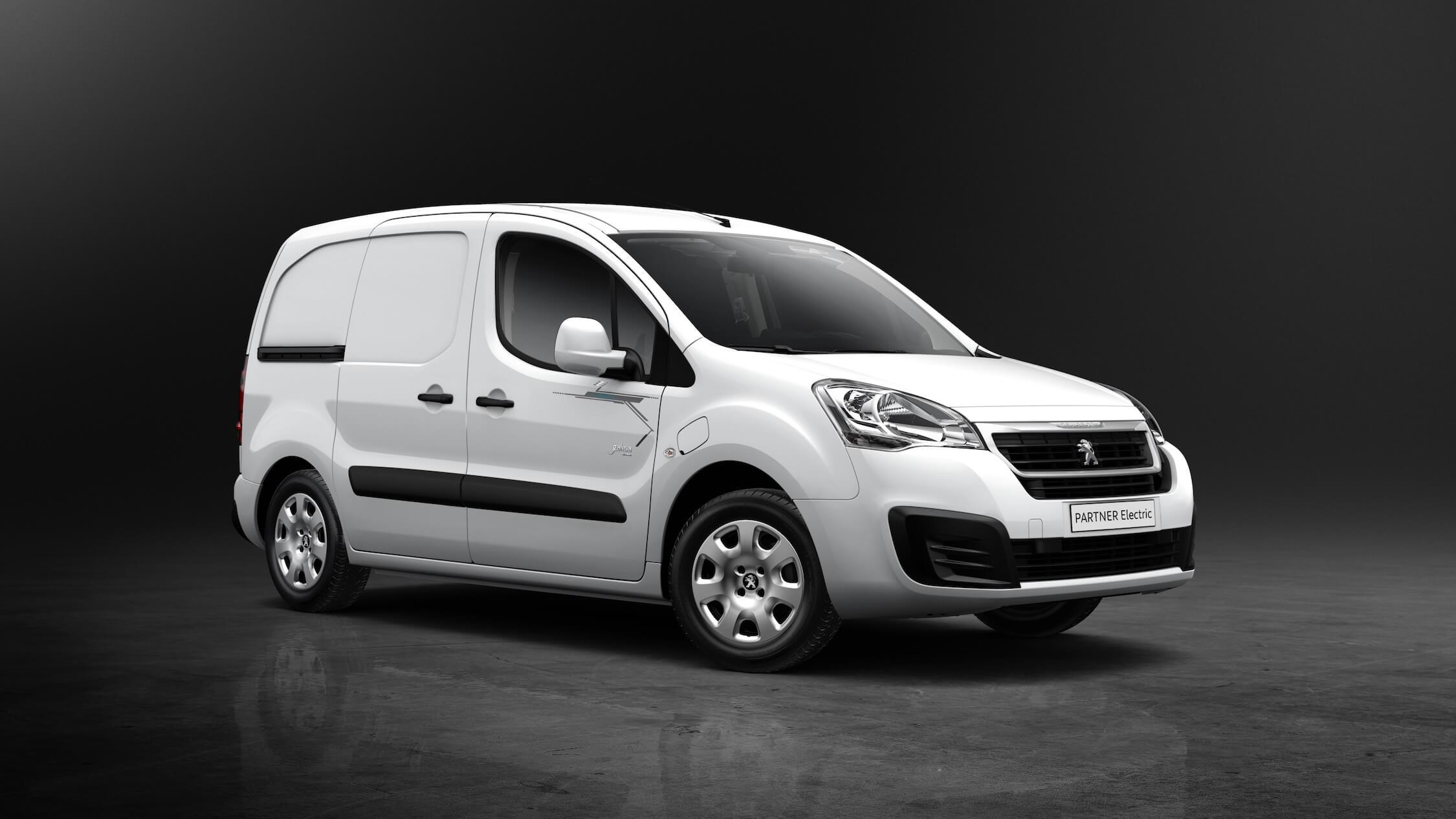 elektrische Peugeot Partner bestelbus