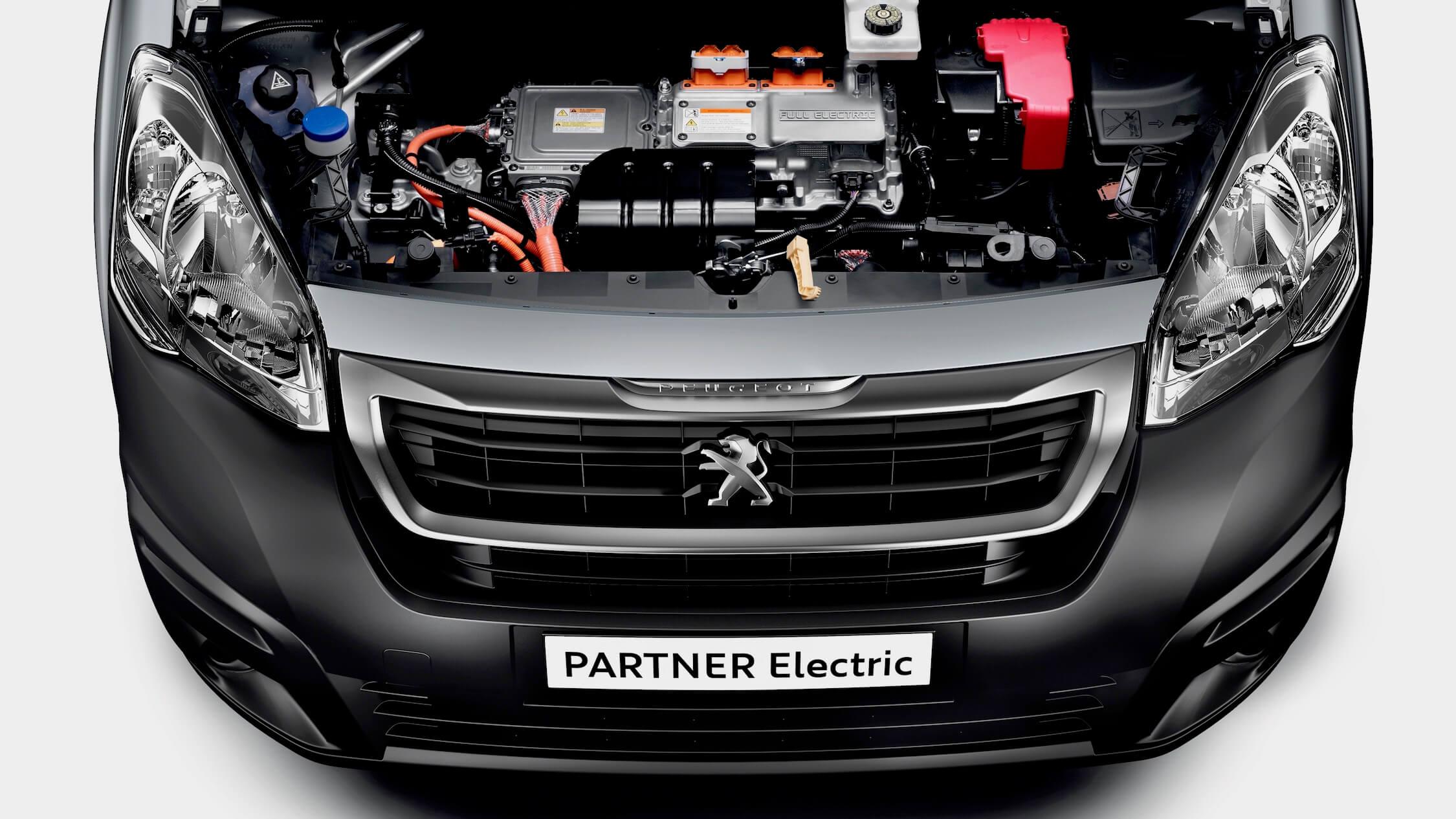 elektrische Peugeot Partner motor