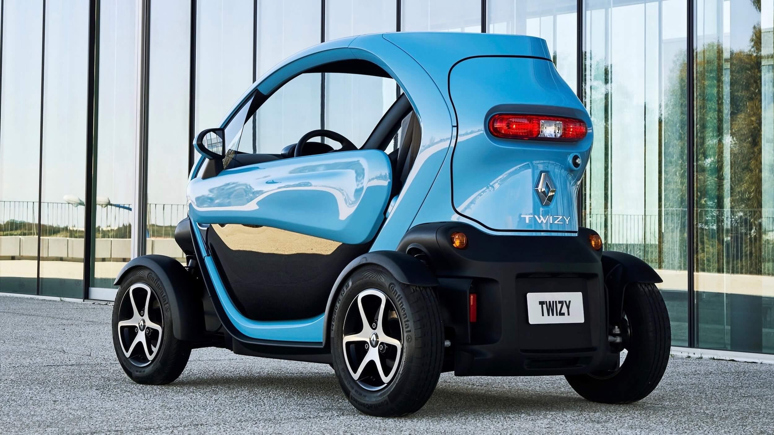 elektrische Renault Twizy bestelauto