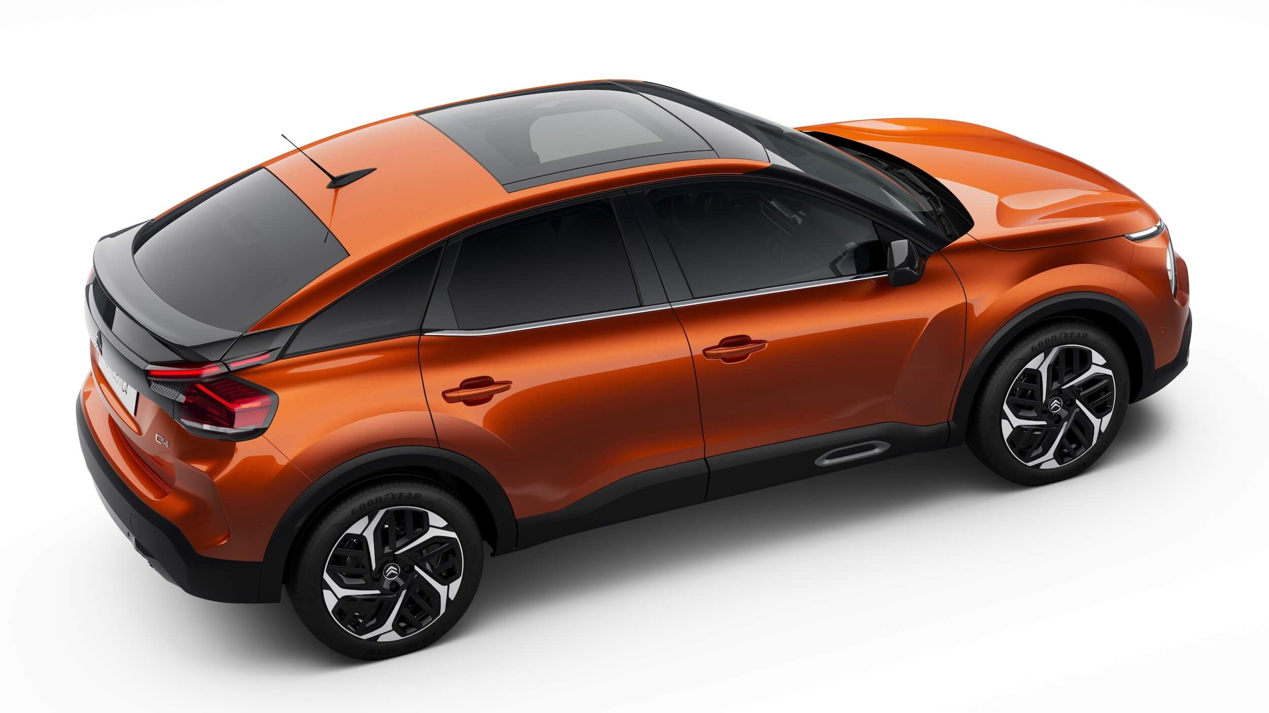 Citroën C4 oranje