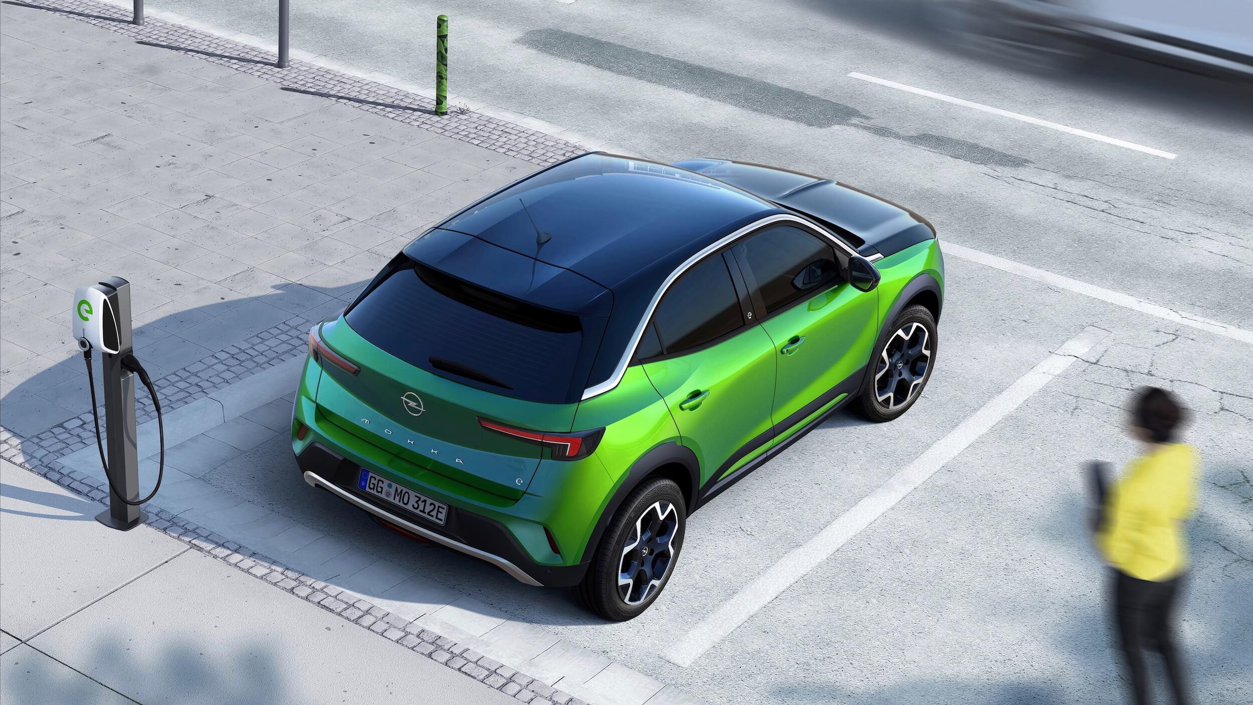 Opel Mokka e aan laadbox