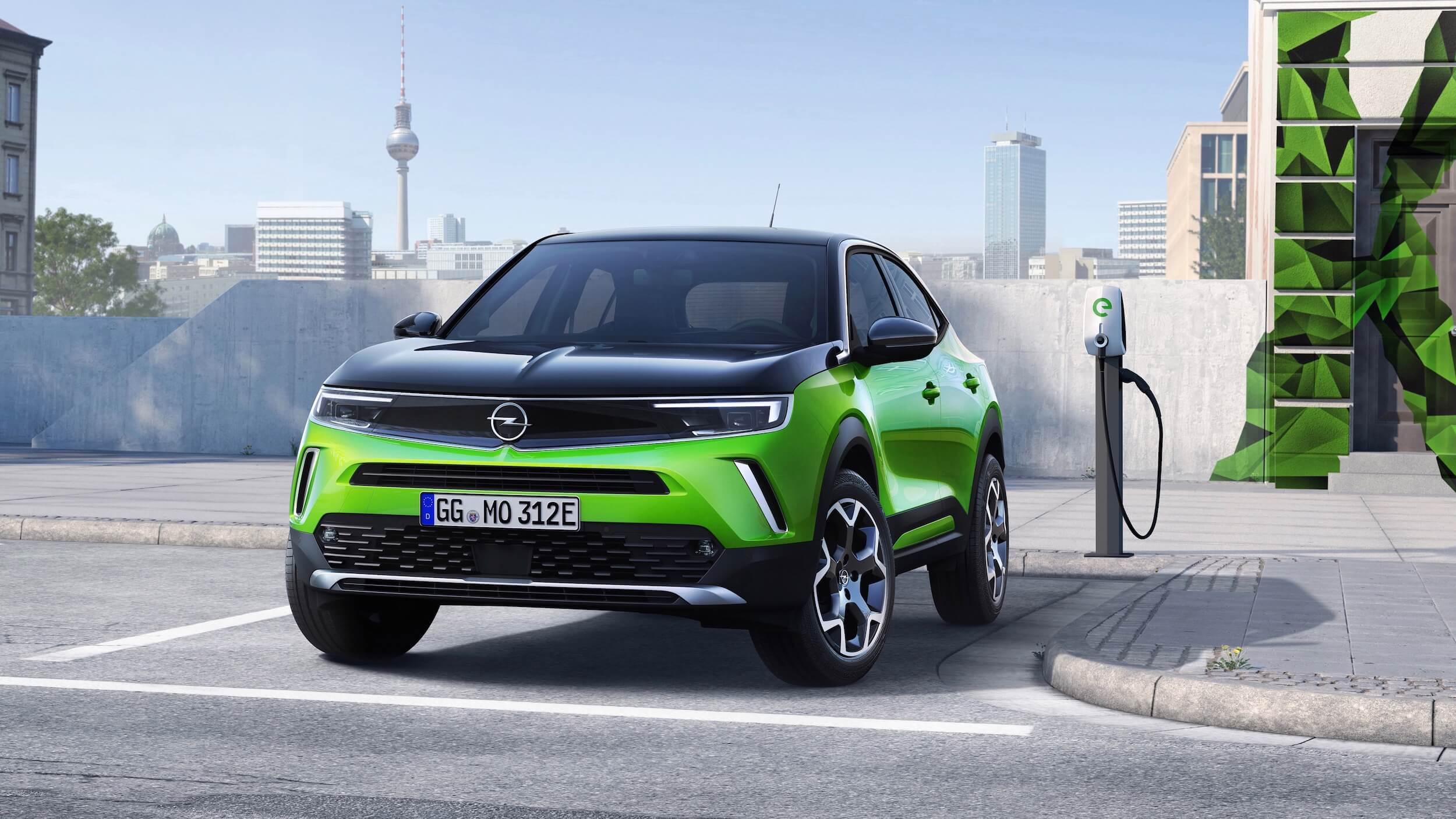 Opel Mokka e auto