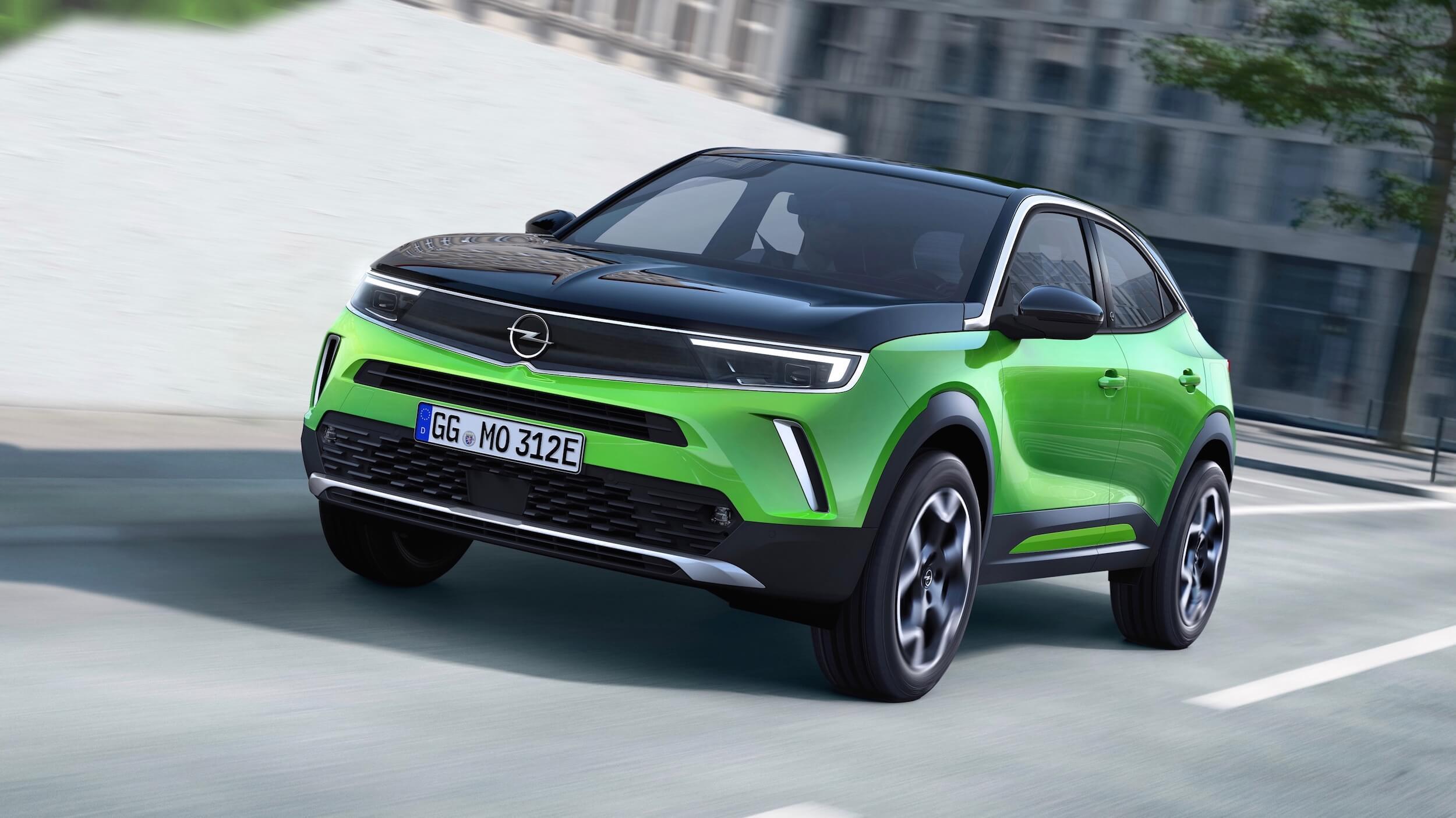 Opel Mokka e elektrisch voertuig