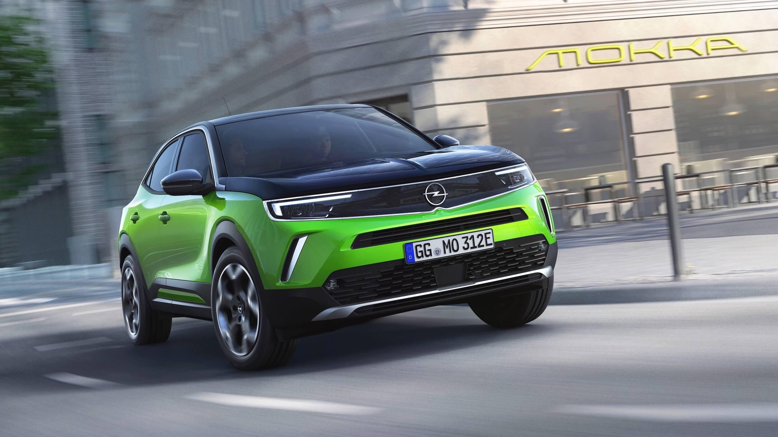 Opel Mokka e elektrische auto