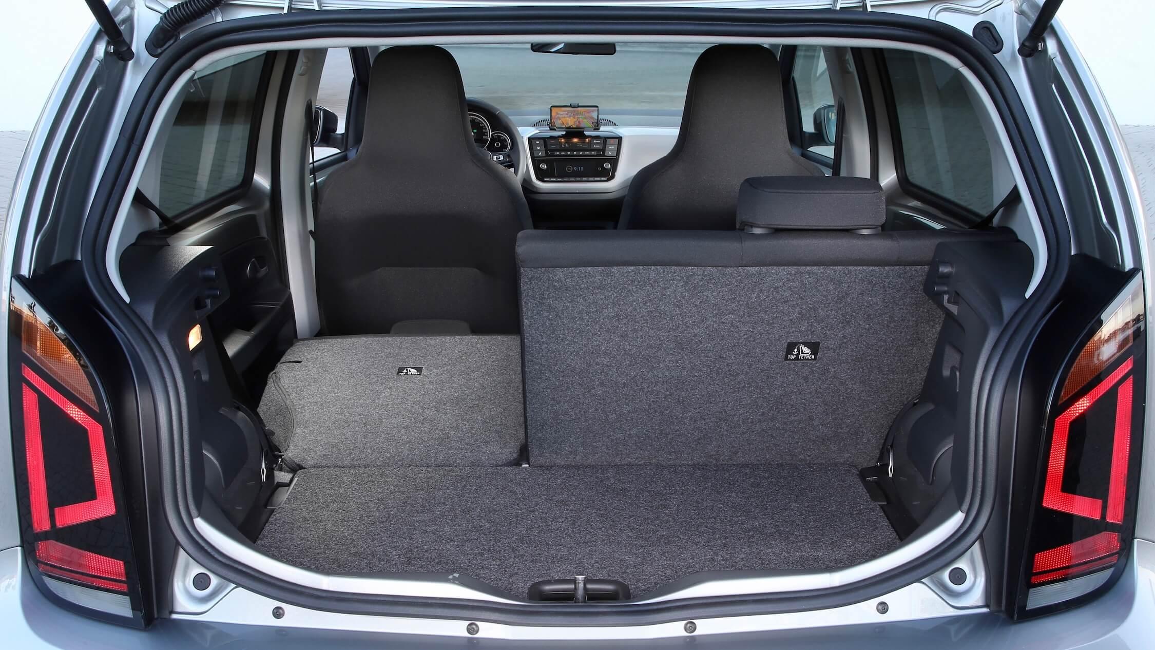 Volkswagen e-Up achterbank