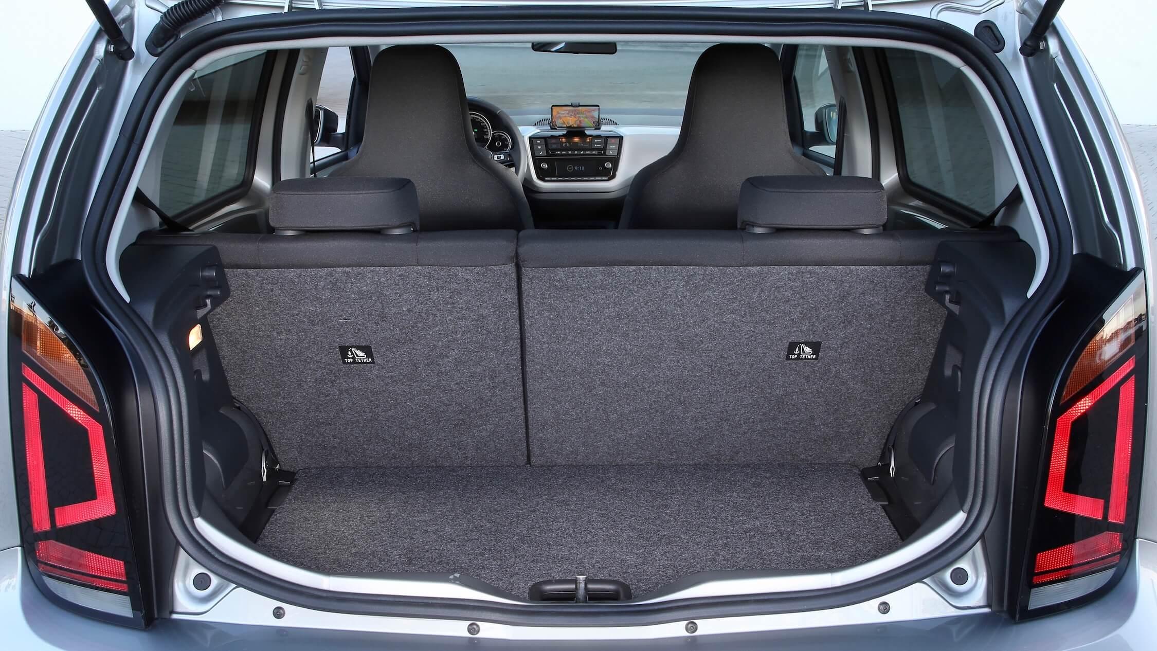 Volkswagen e-Up koffer