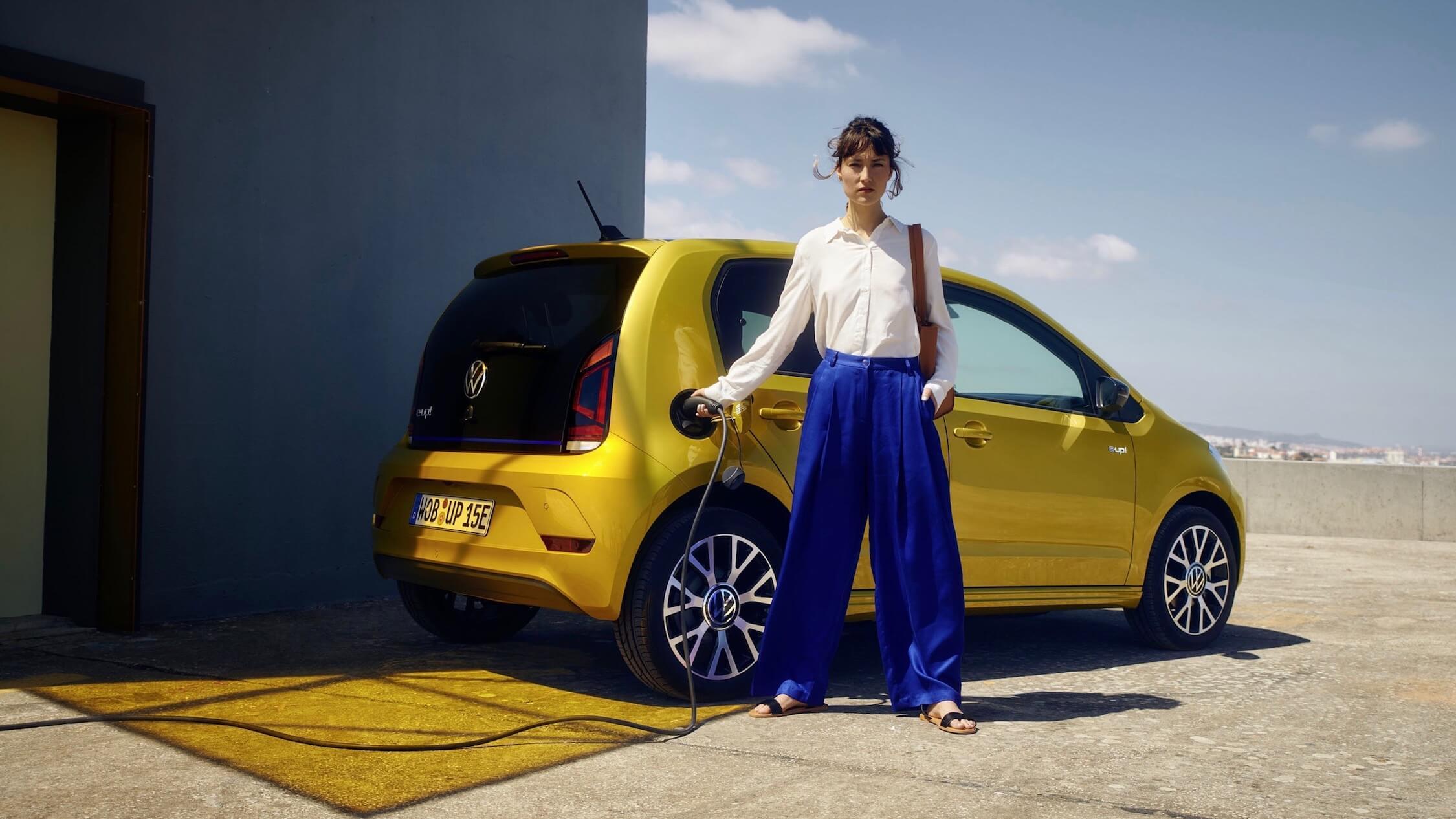 Volkswagen e up opladen