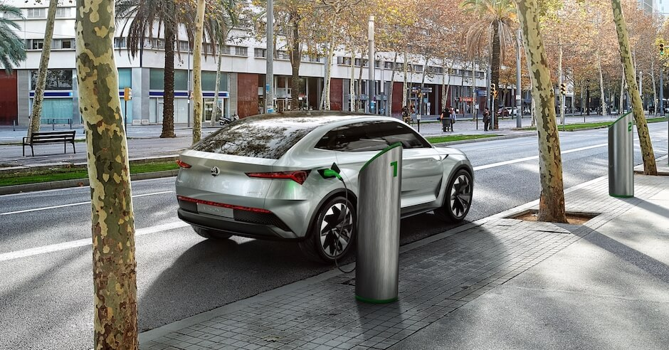 elektrische auto van de toekomst