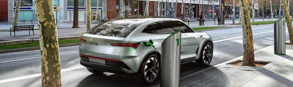toekomstige elektrische auto