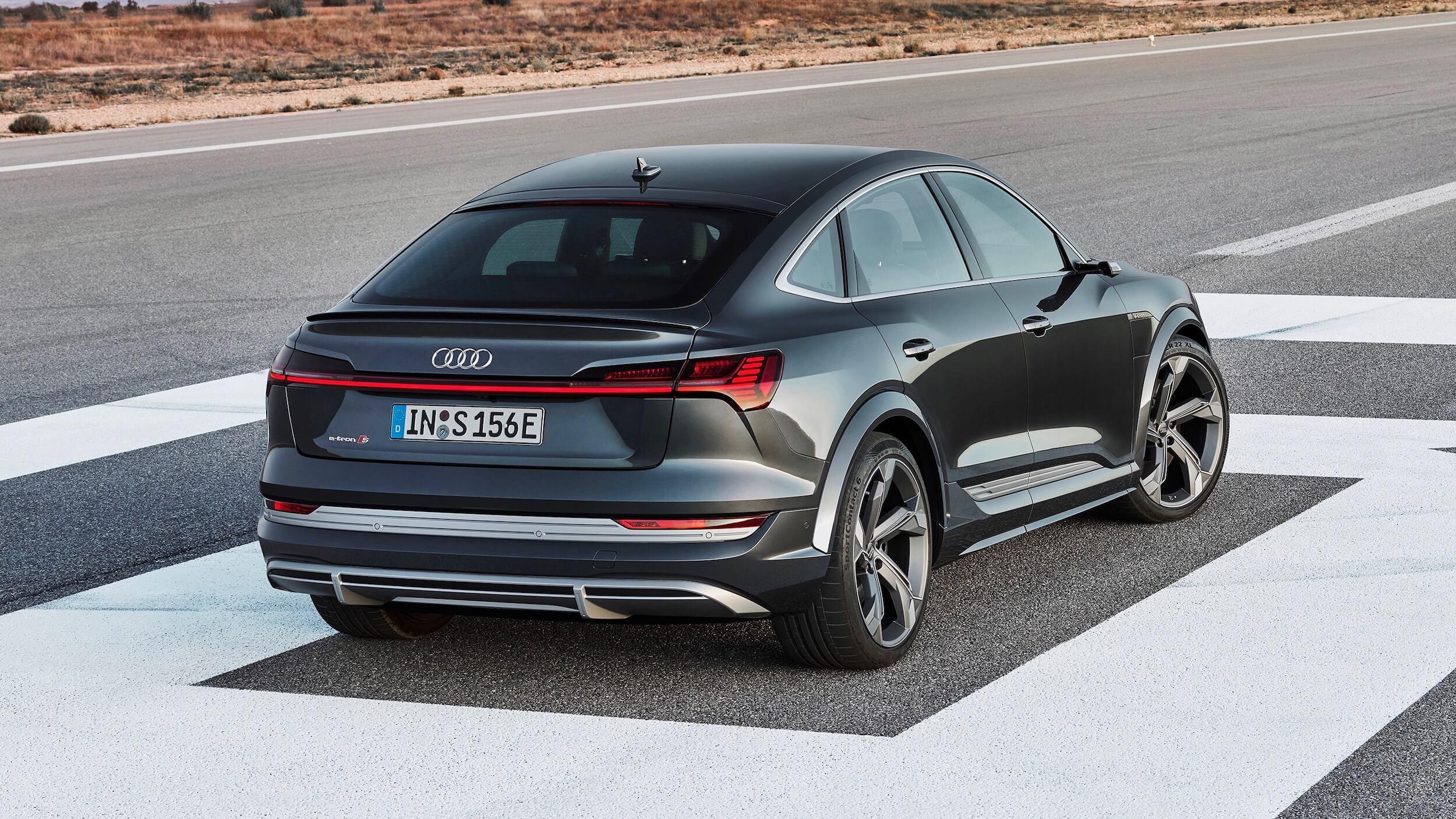 Audi e tron Sportback elektrisch