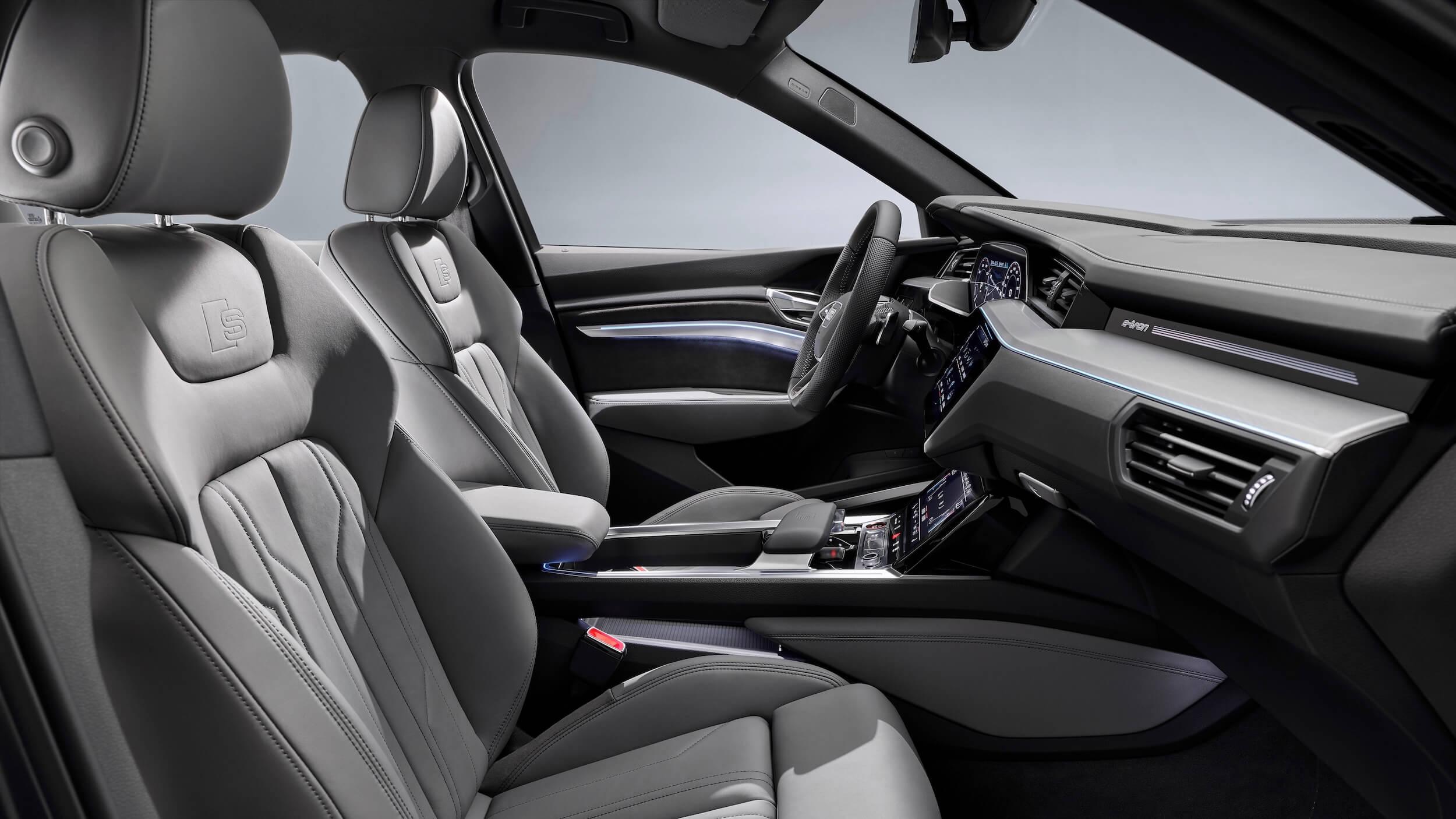 Audi e tron Sportback interieur