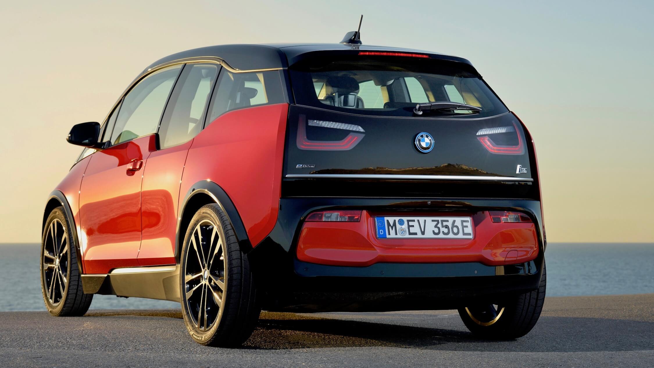 BMW i3s achterkant
