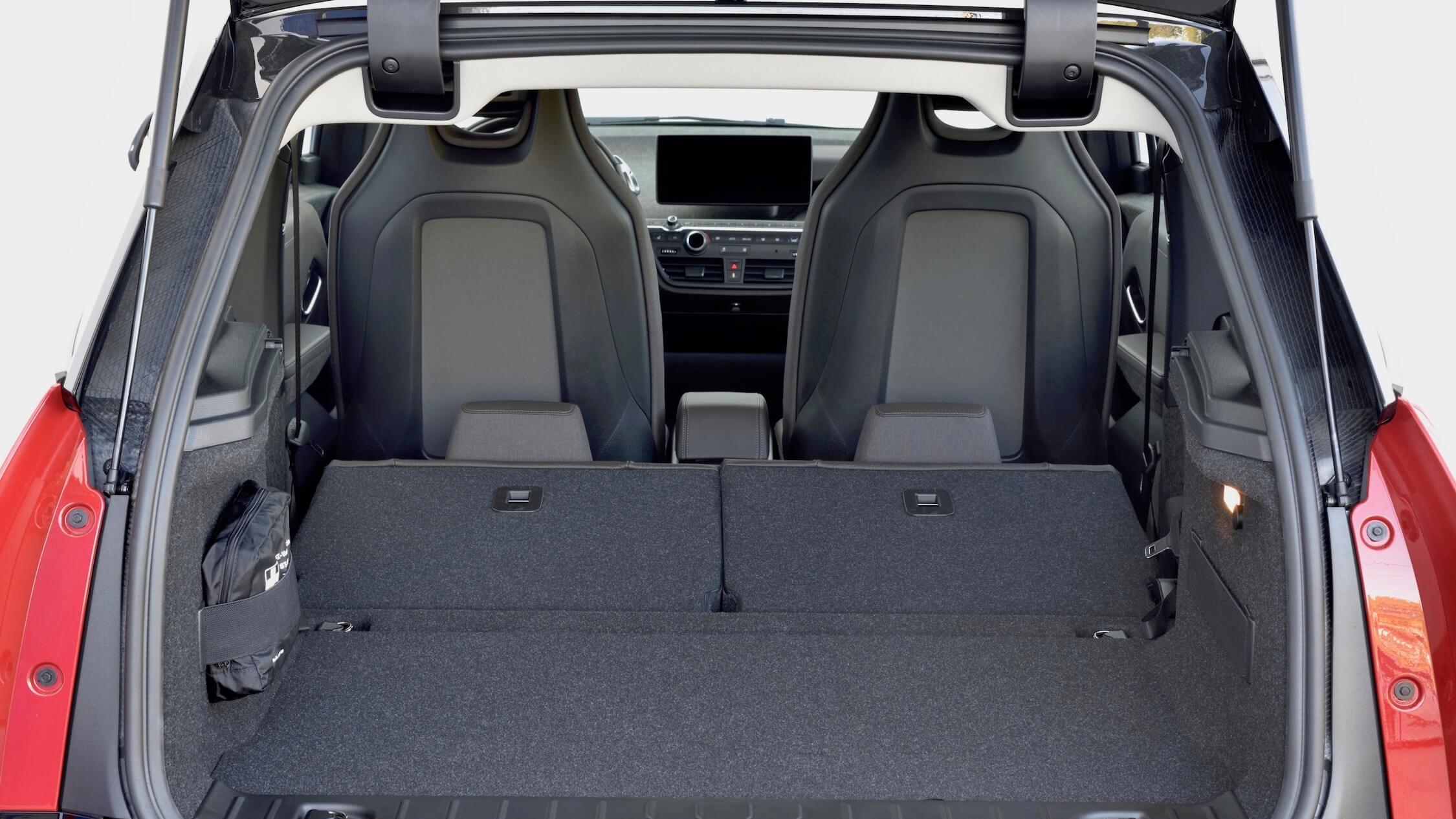 BMW i3s koffer