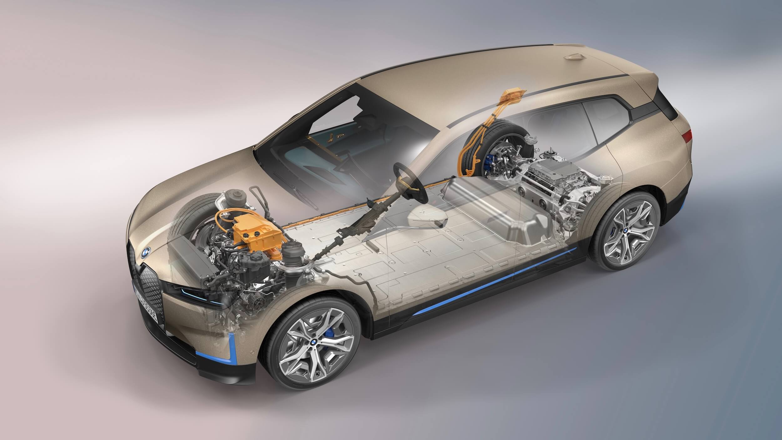 BMW iX batterij