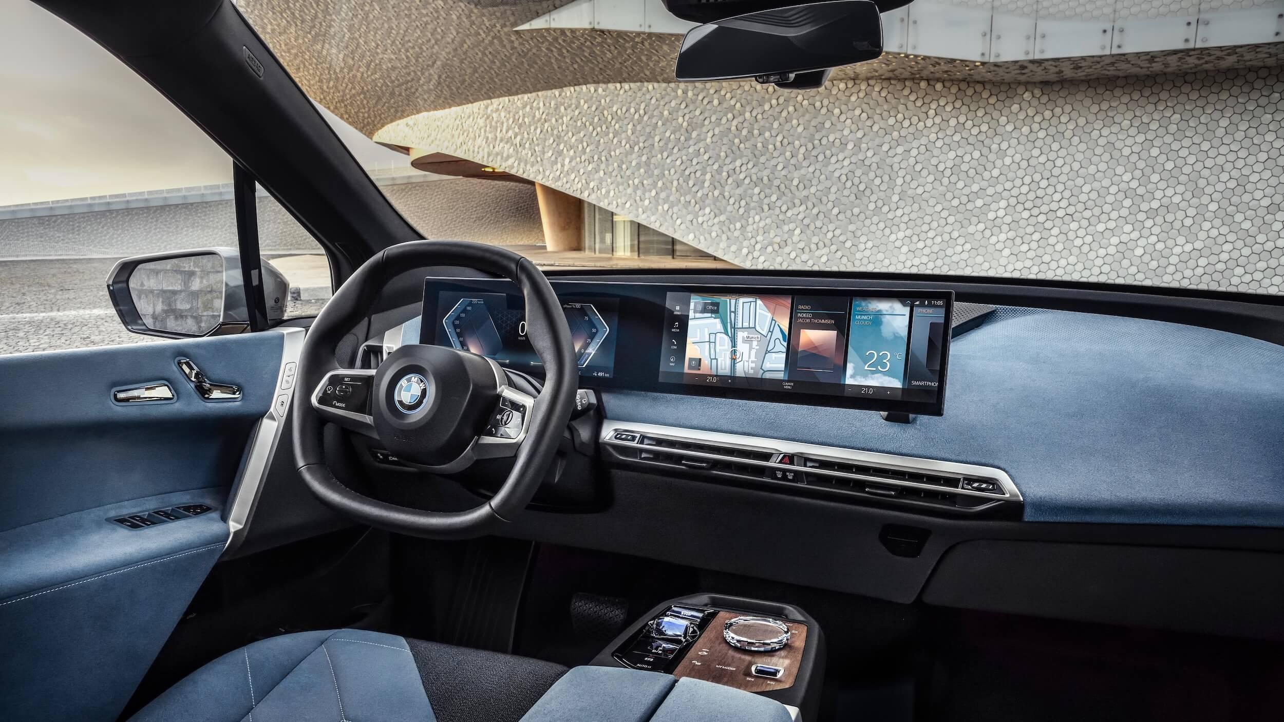 BMW iX interieur 1