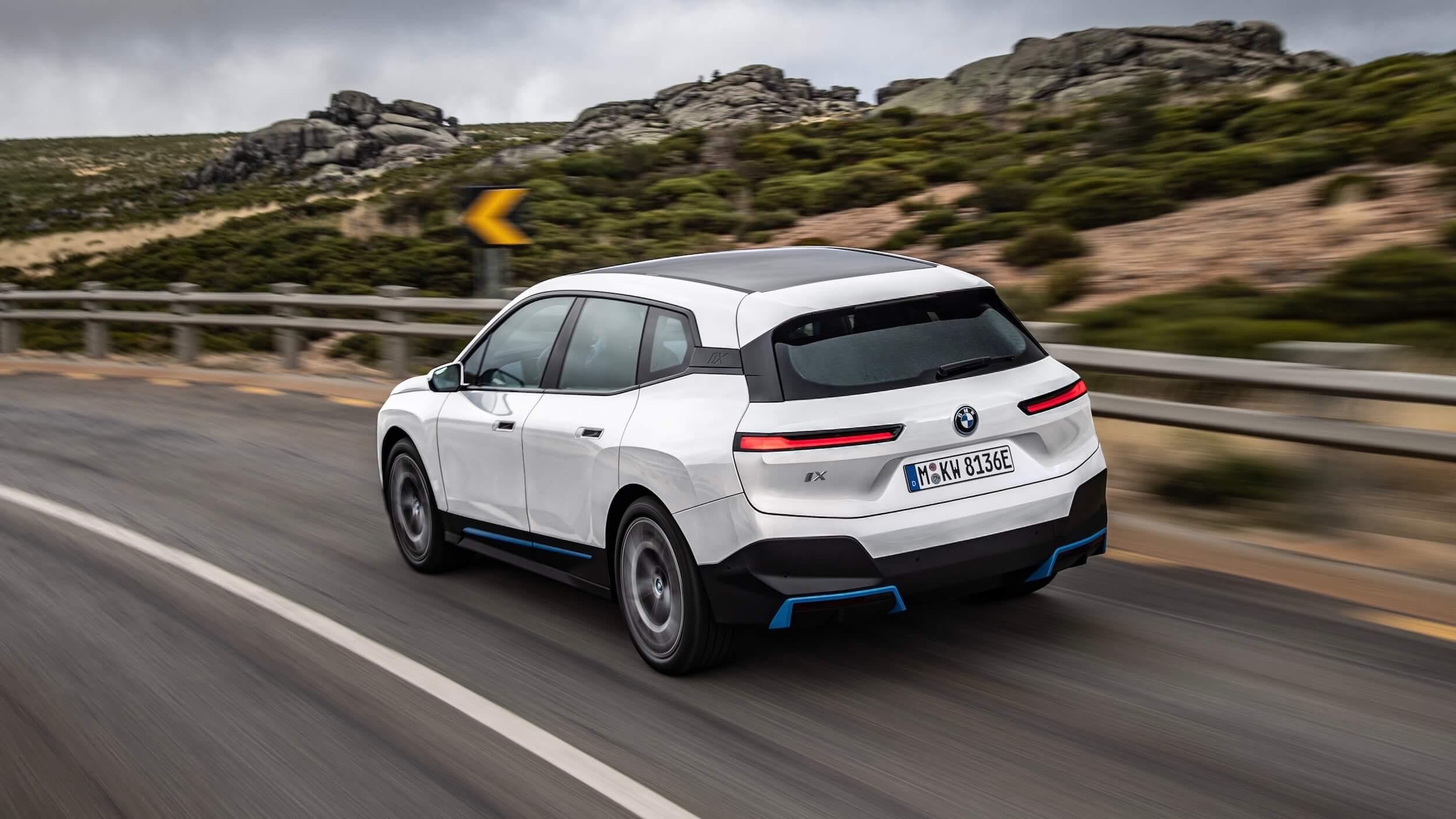 BMW iX wit