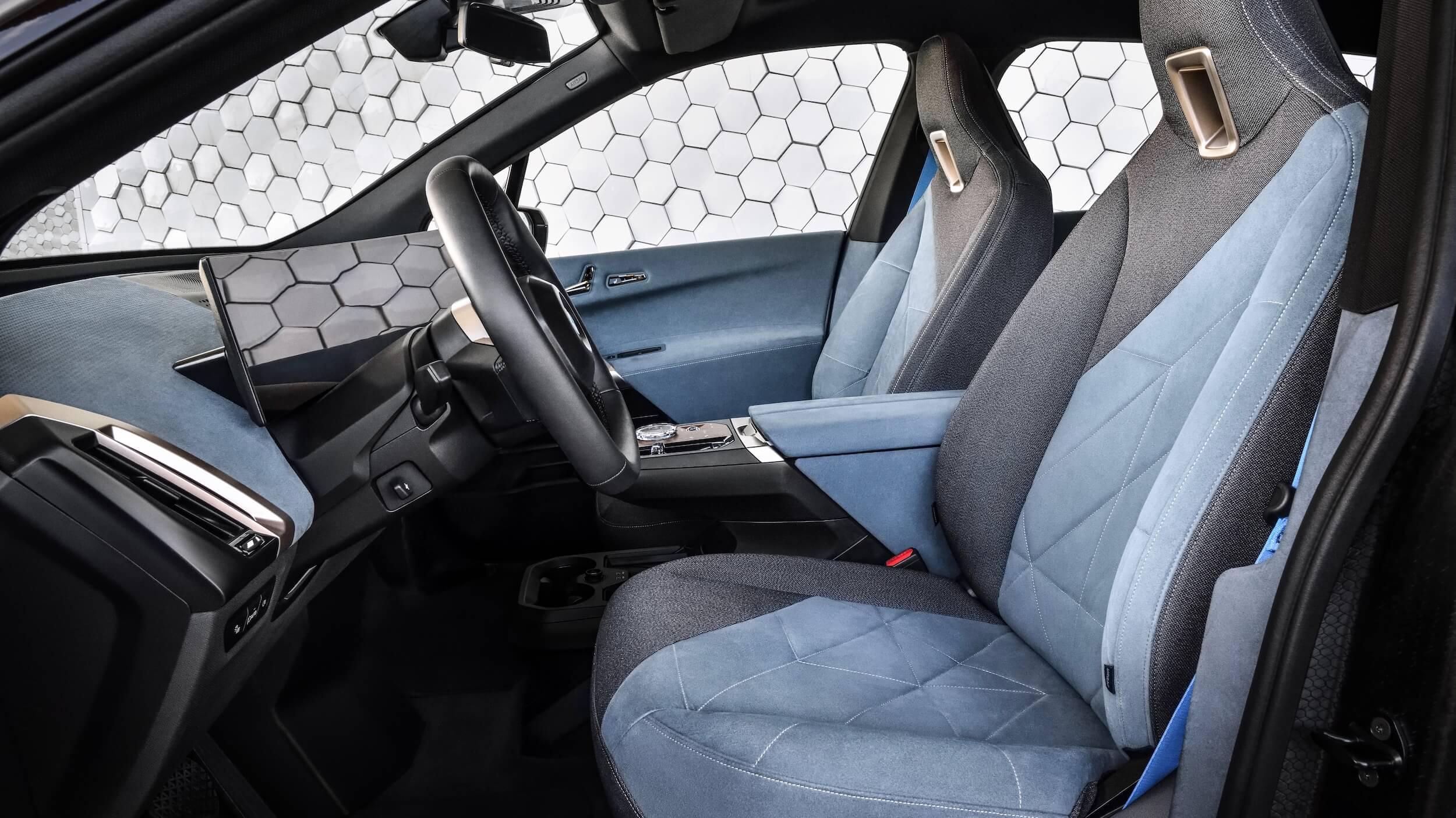 BMW iX zetels