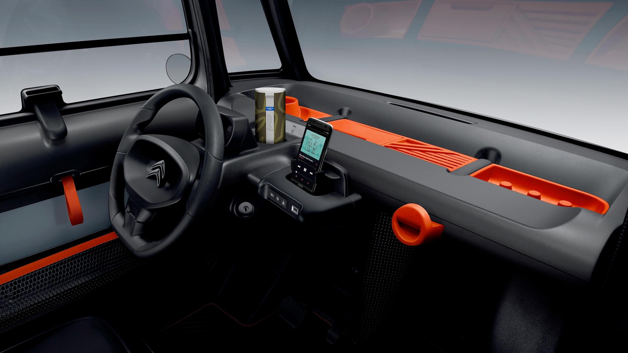 Citroën AMI interieur