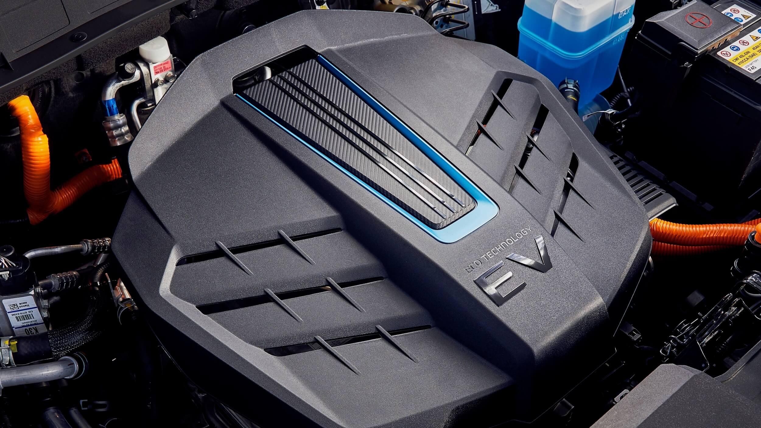 Elektrische Hyundai Kona motor afdekplaat