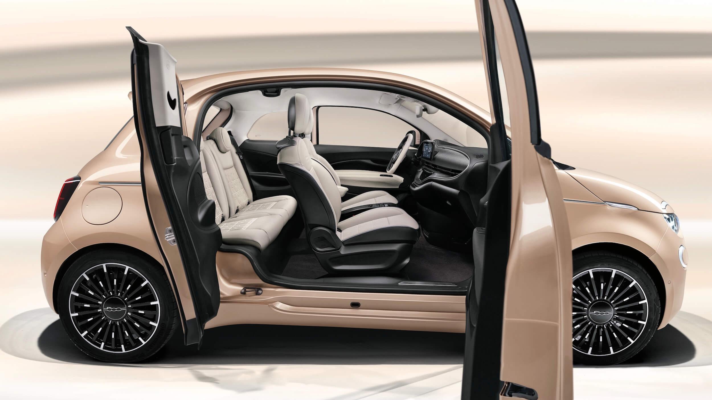 Fiat 500e 31 deuren