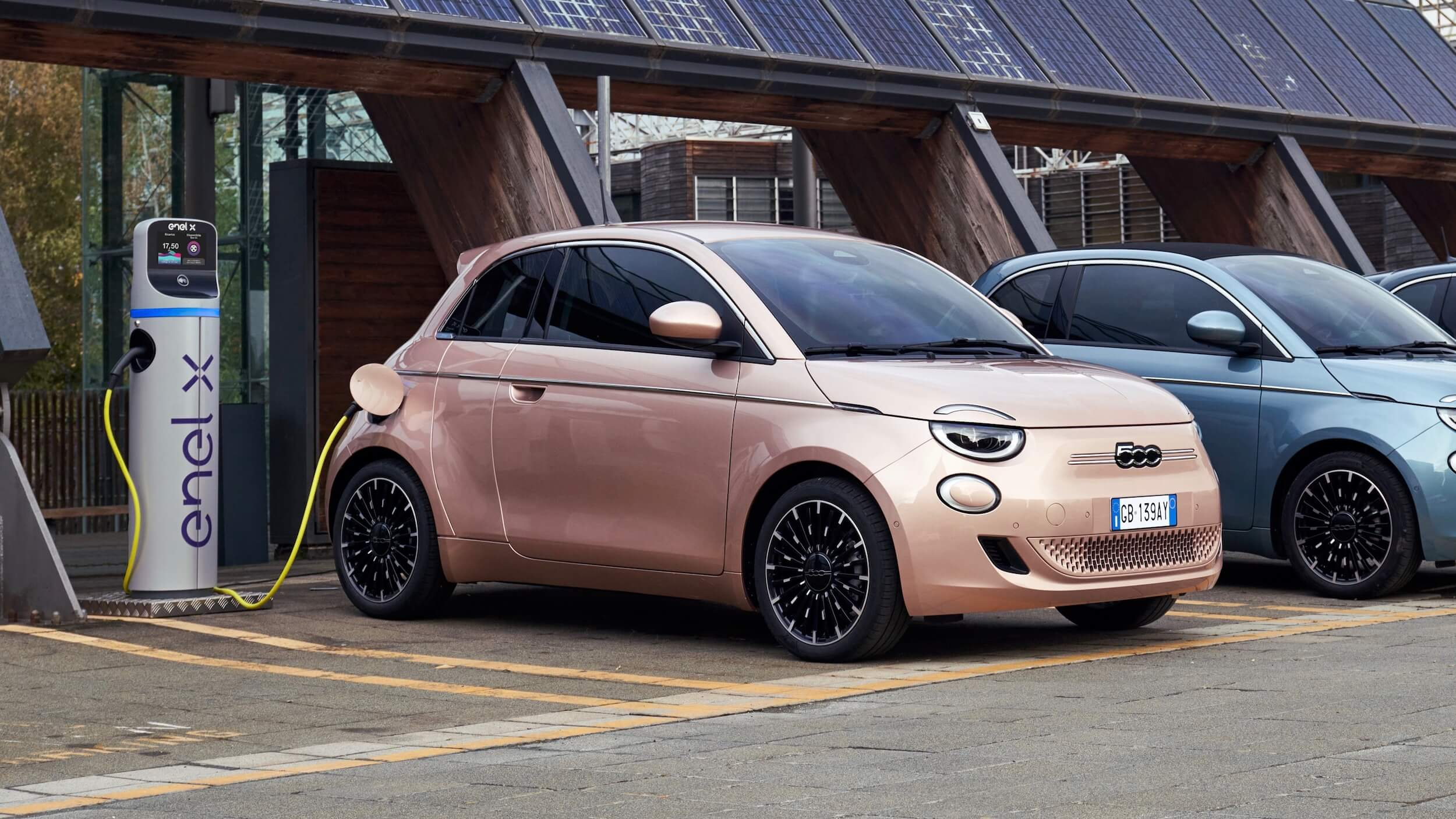 Fiat 500e 31 opladen