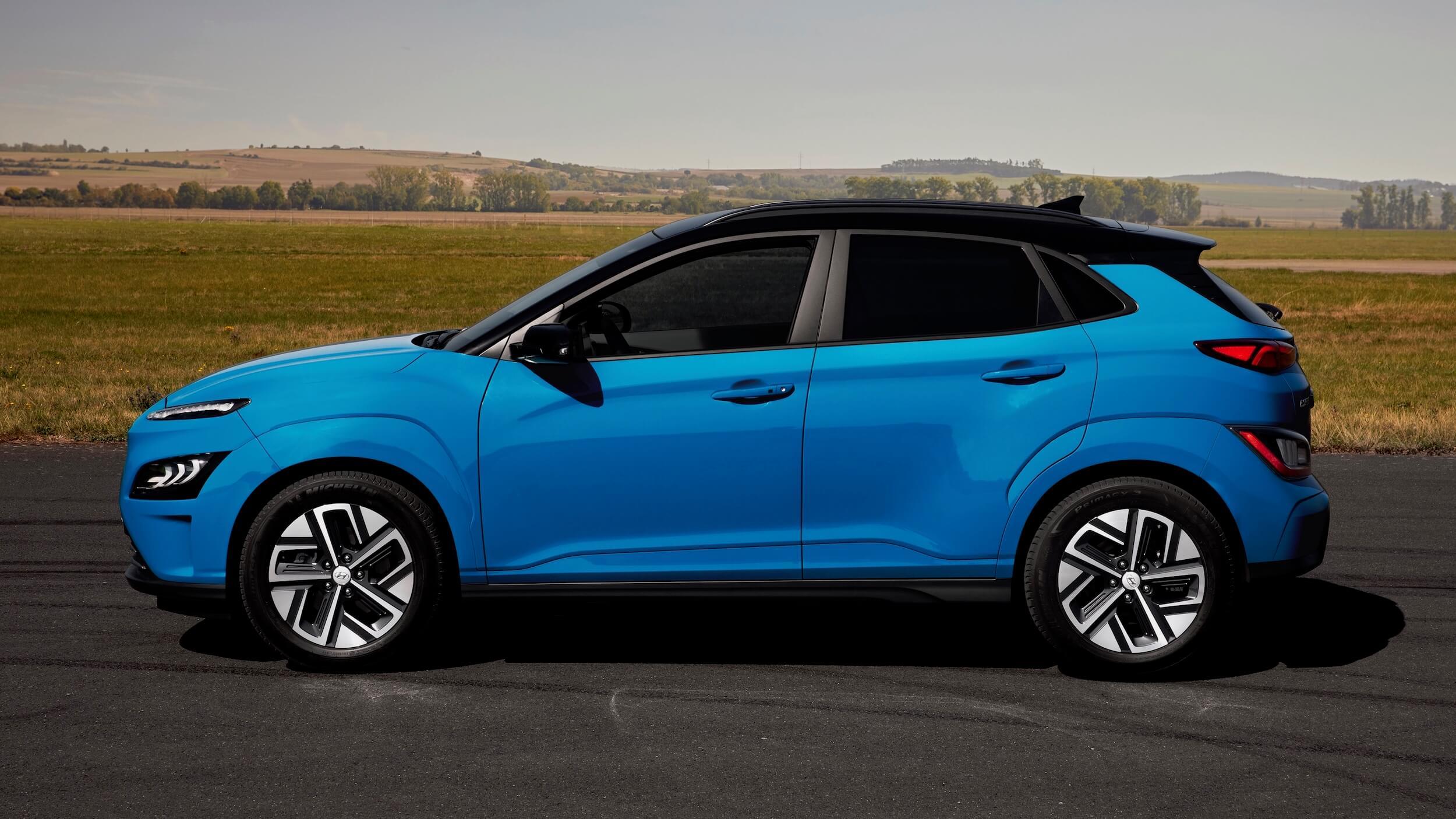 Hyundai Kona EV profiel