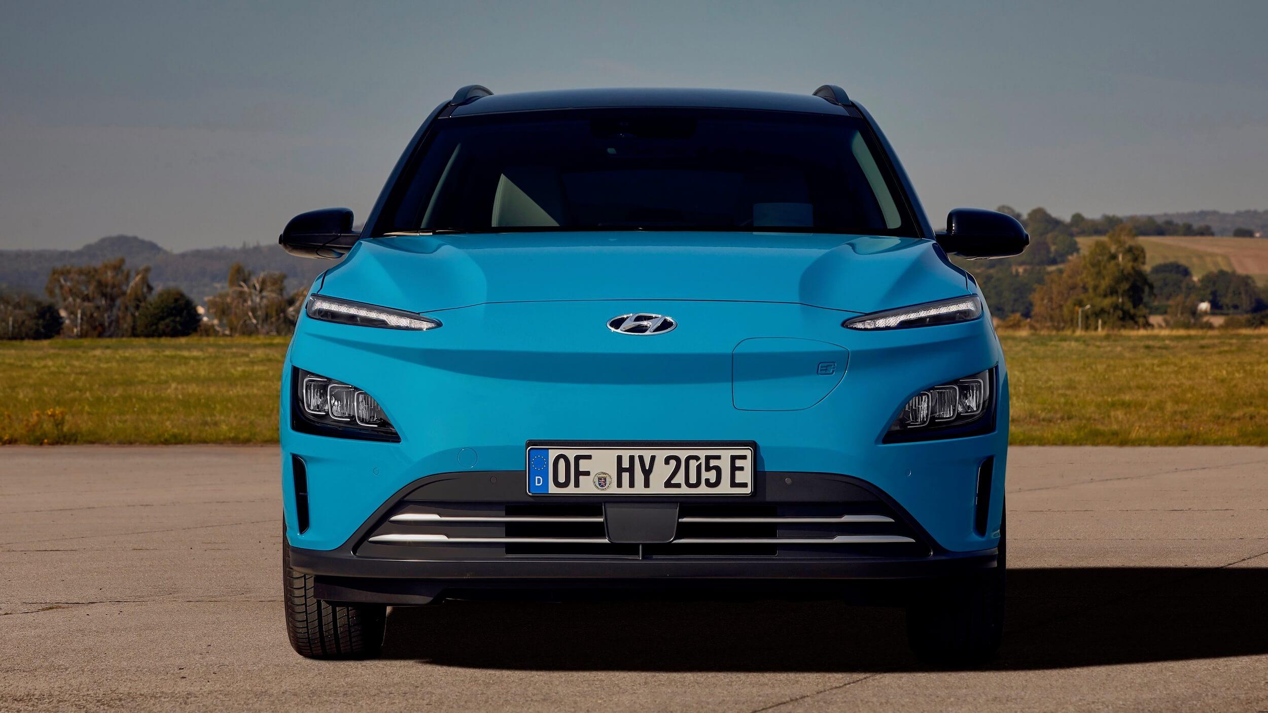 Hyundai Kona EV voorkant