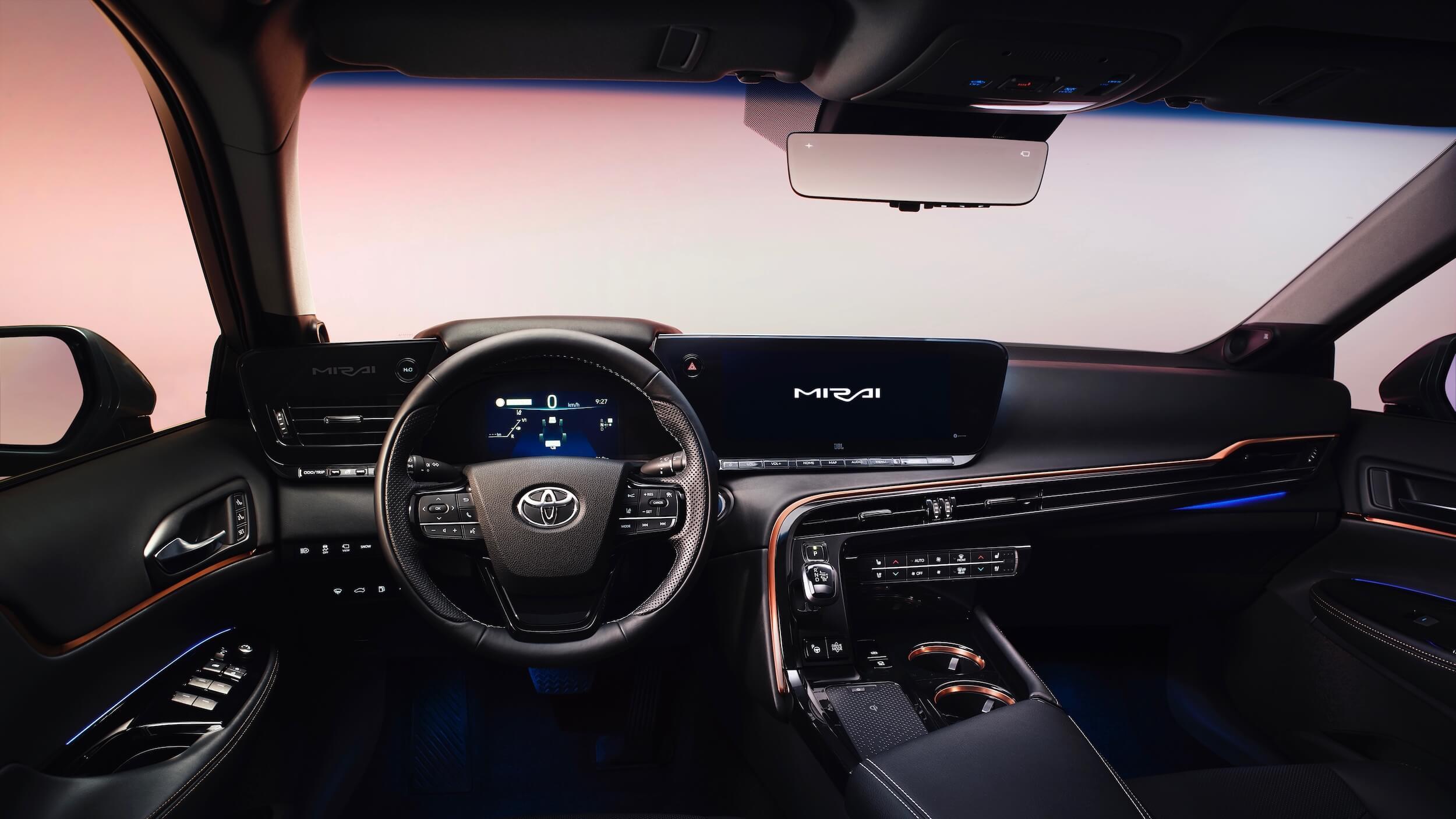 Toyota Mirai 2 interieur