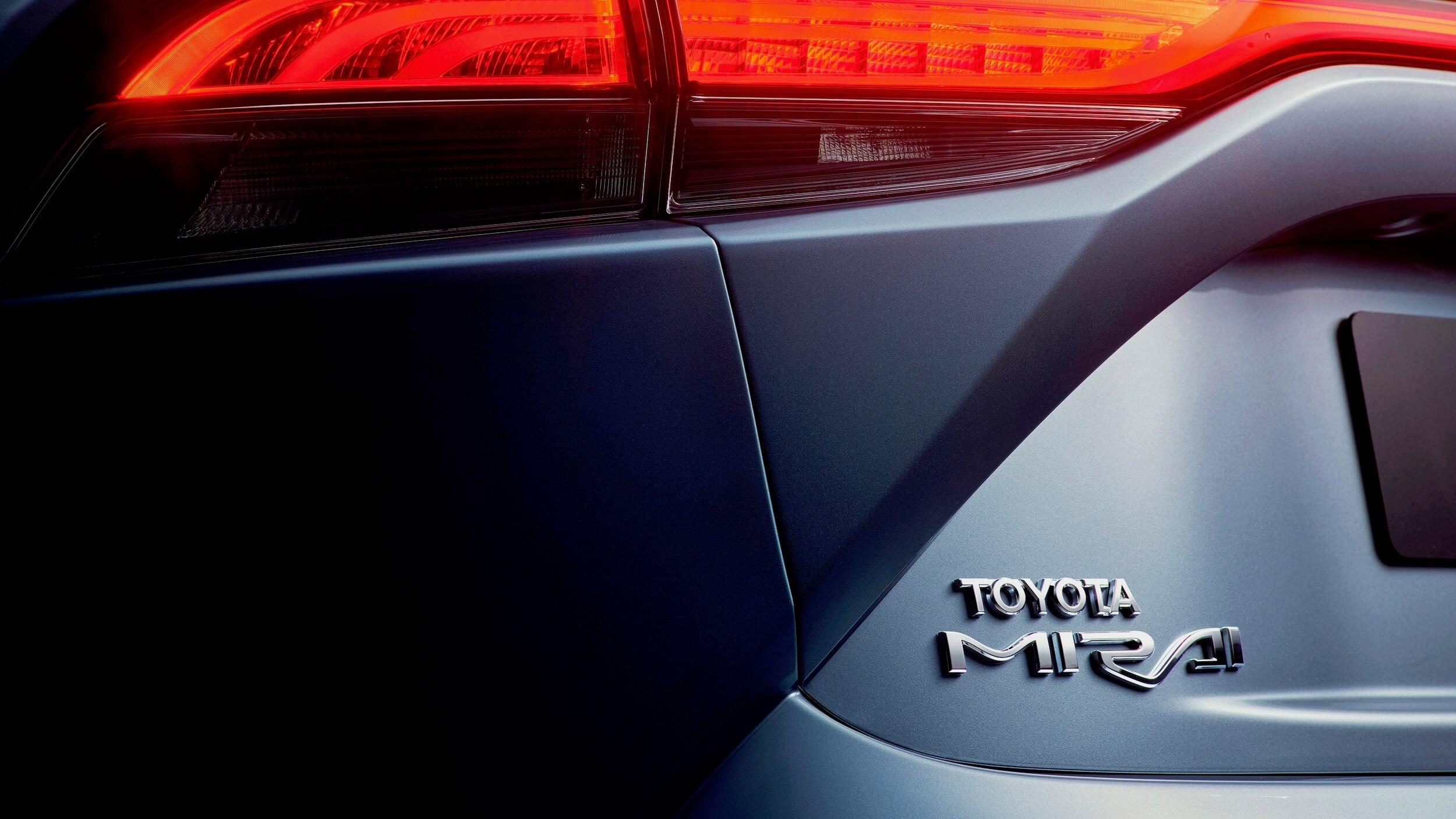 Toyota Mirai badge
