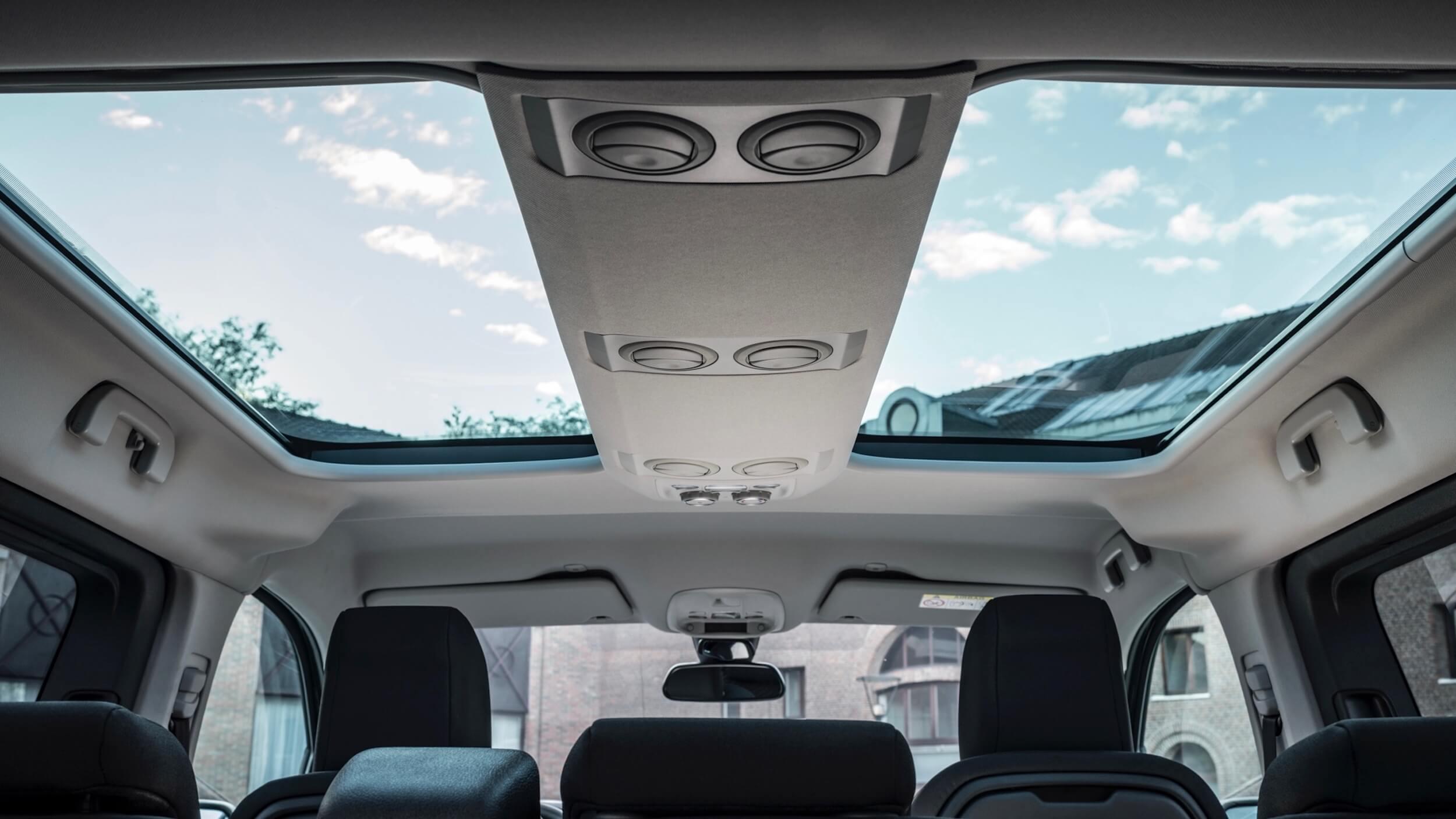 Toyota Proace Verso Electric glazen dak