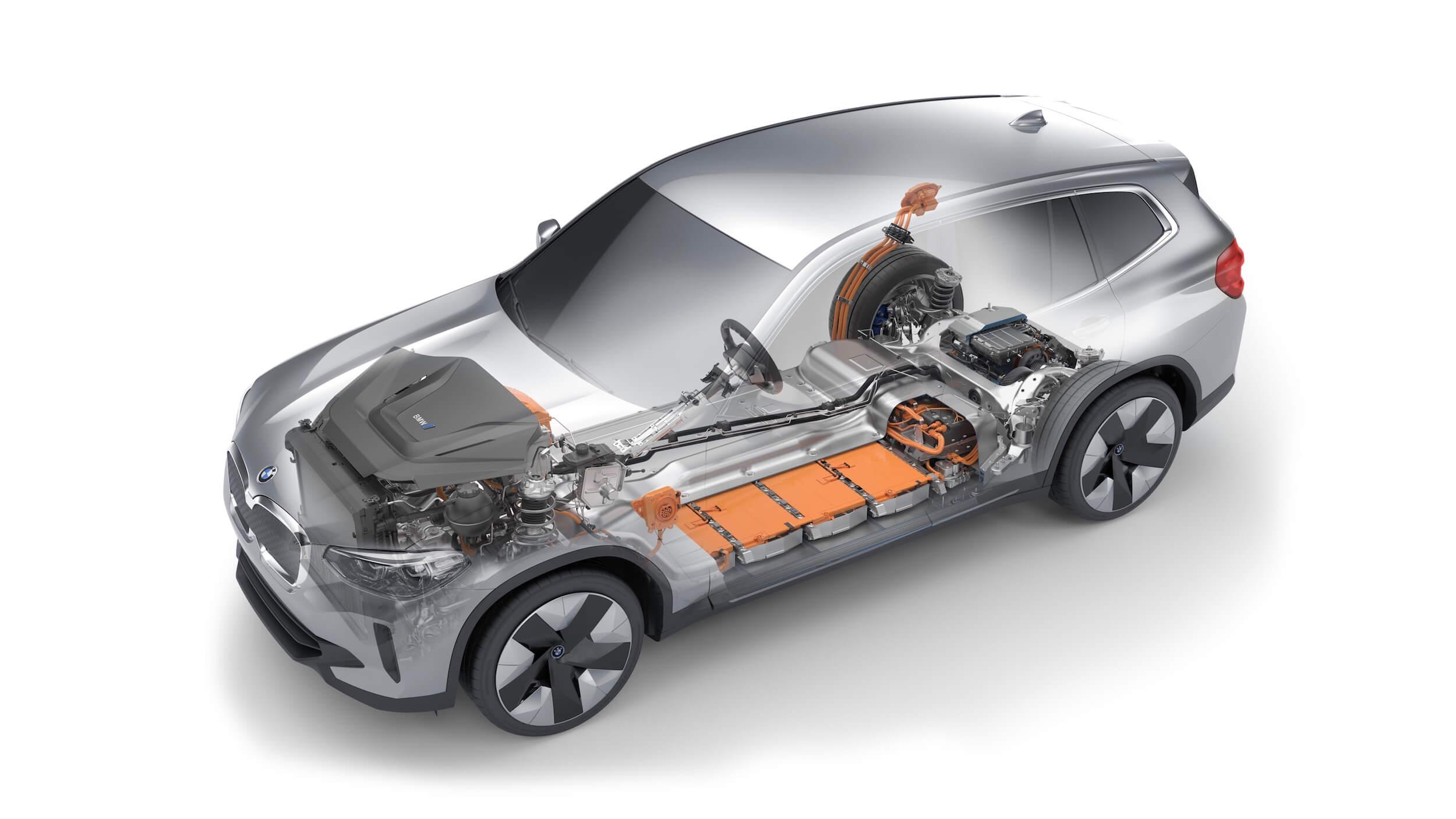 BMW iX3 batterij
