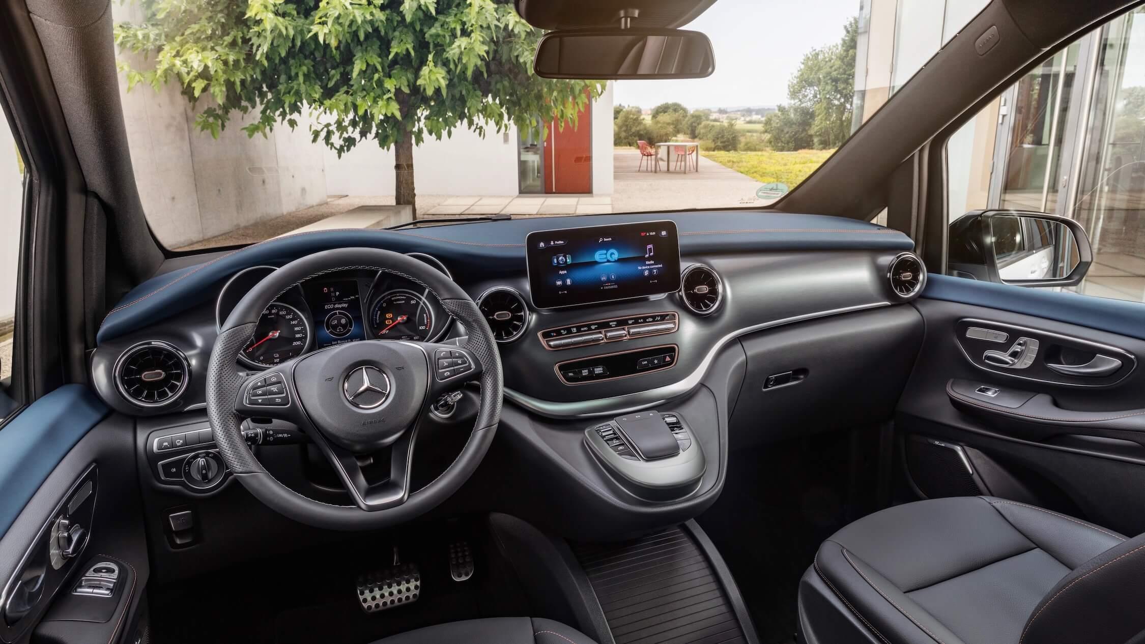 Mercedes EQV interieur