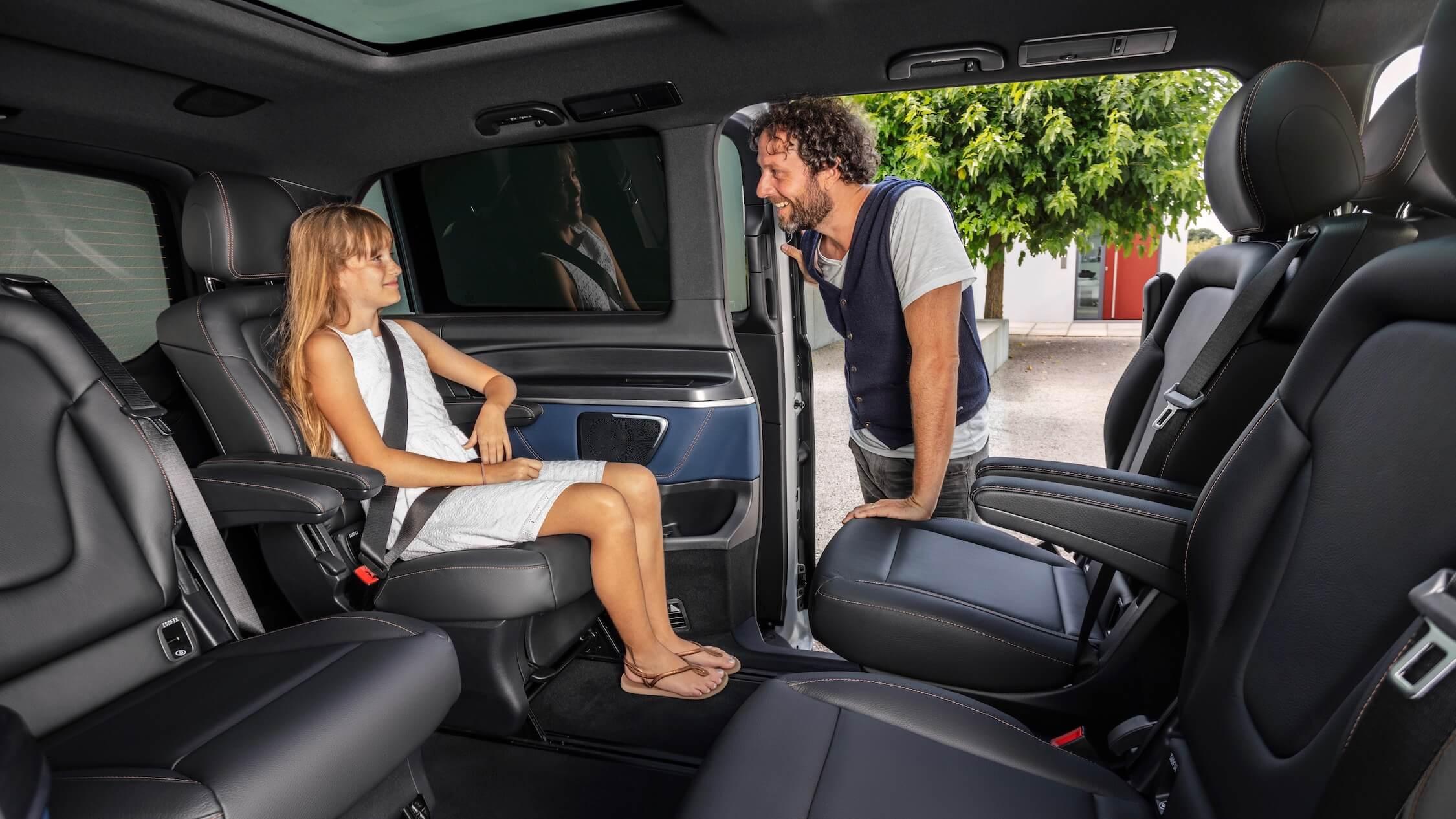 Mercedes EQV zitplaatsen