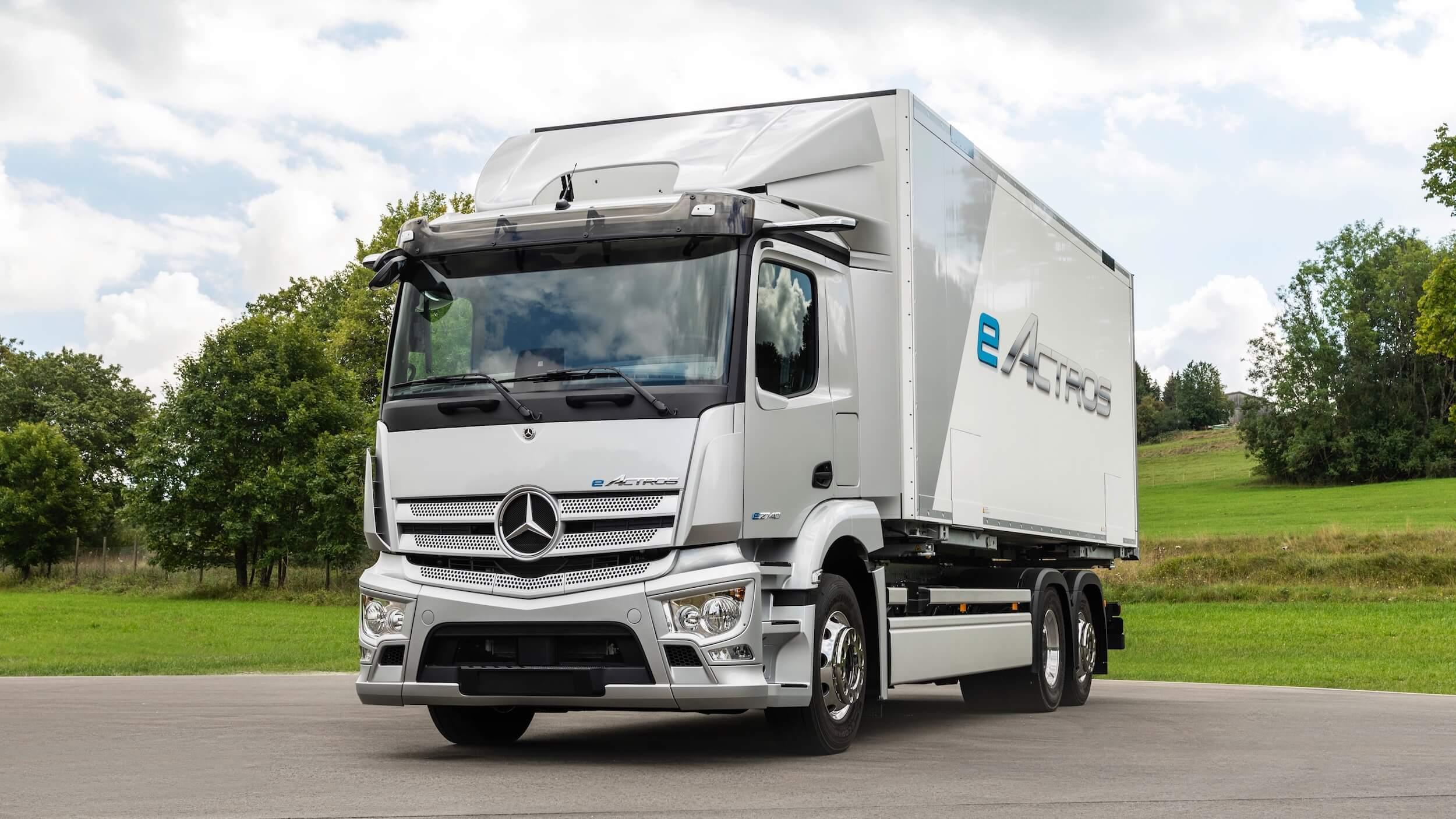 Mercedes eActros elektrische truck