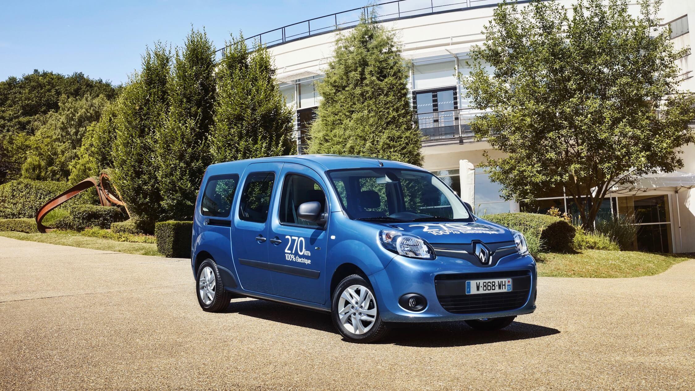 Renault Kangoo ZE Maxi elektrische bestelbus
