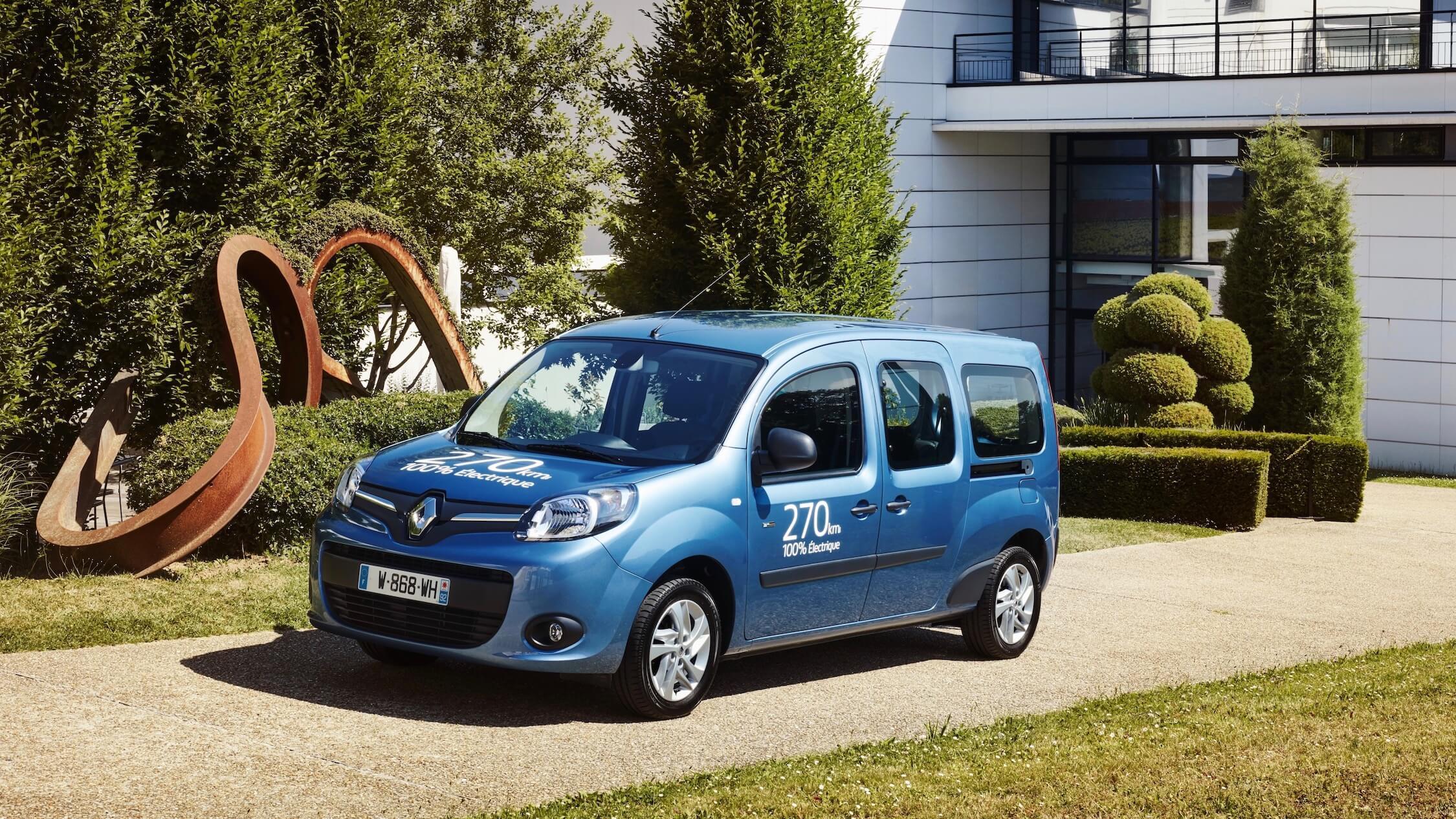 Renault Kangoo elektrisch