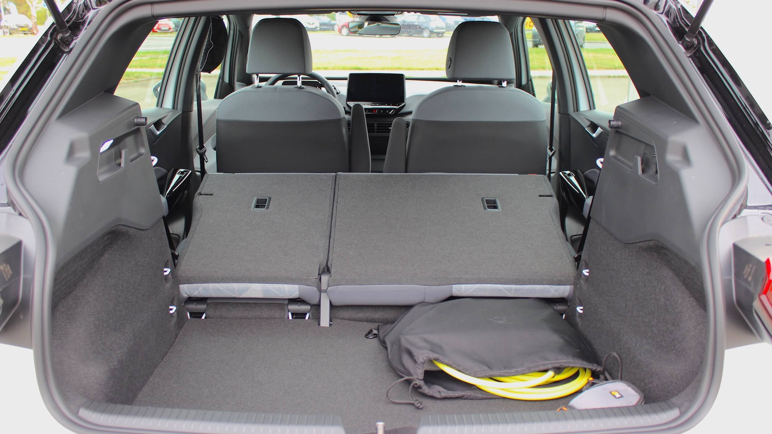 Volkswagen ID.3 koffer met achterbank neergeklapt
