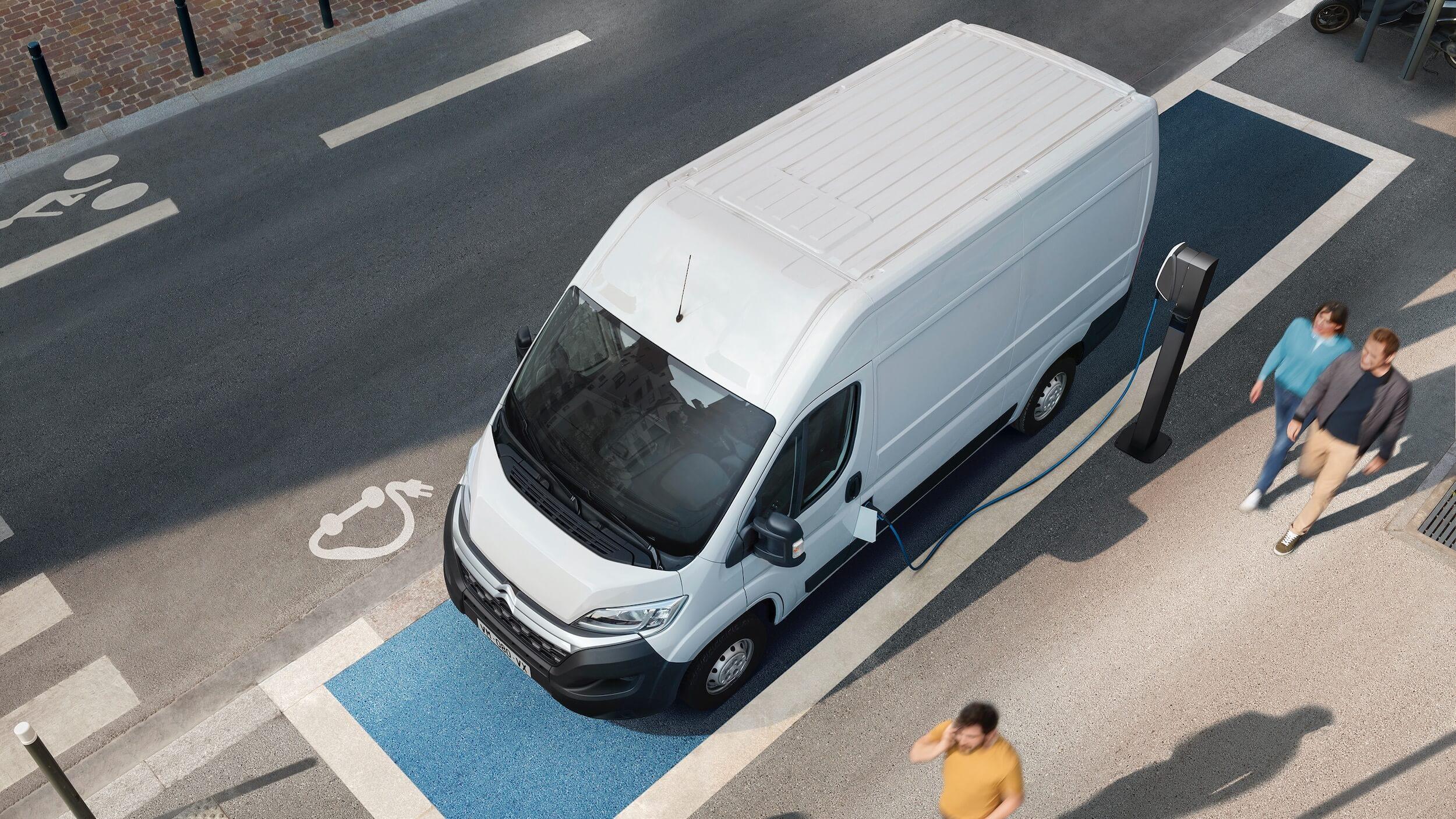 elektrische Citroën e Jumper opladen