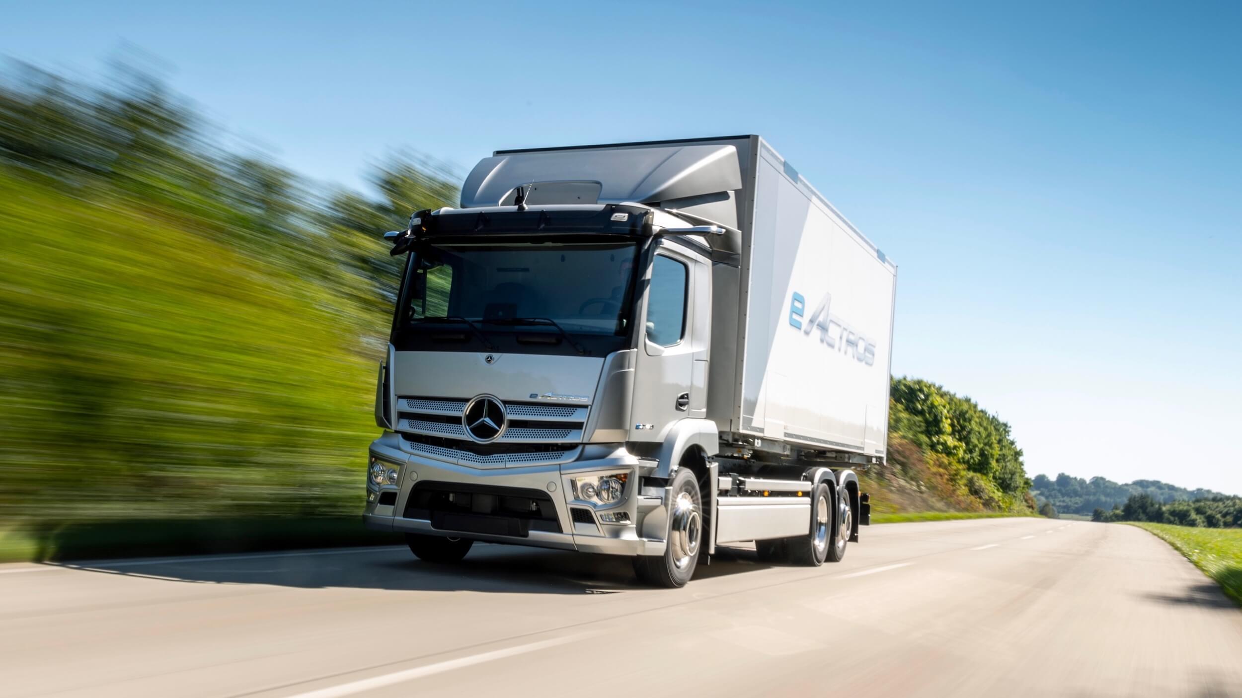 elektrische Mercedes eActros