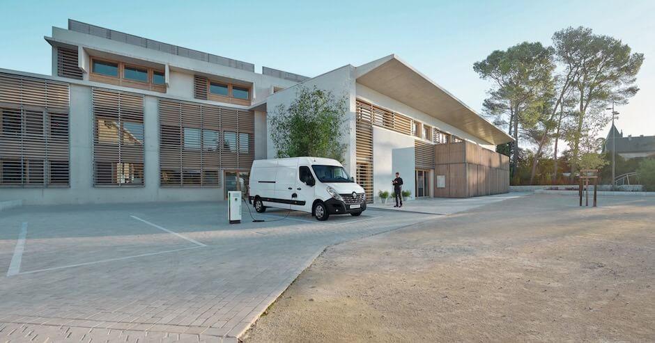 elektrische bestelauto Renault