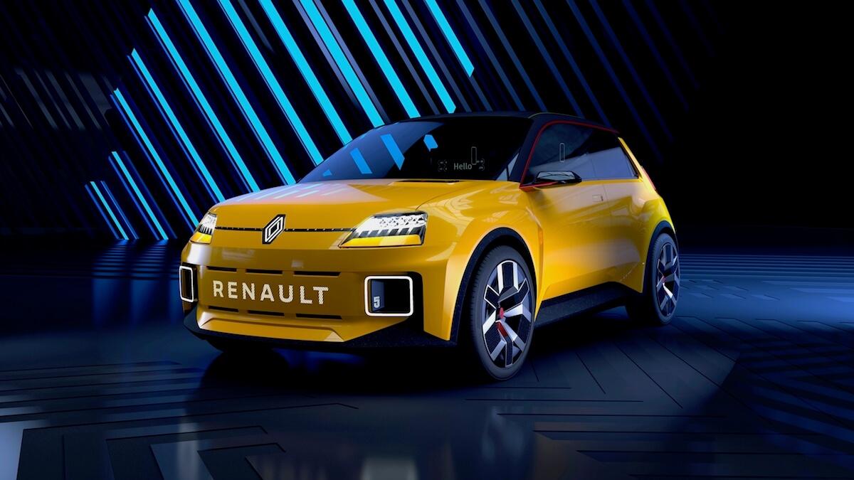 Elektrische auto Renault 5