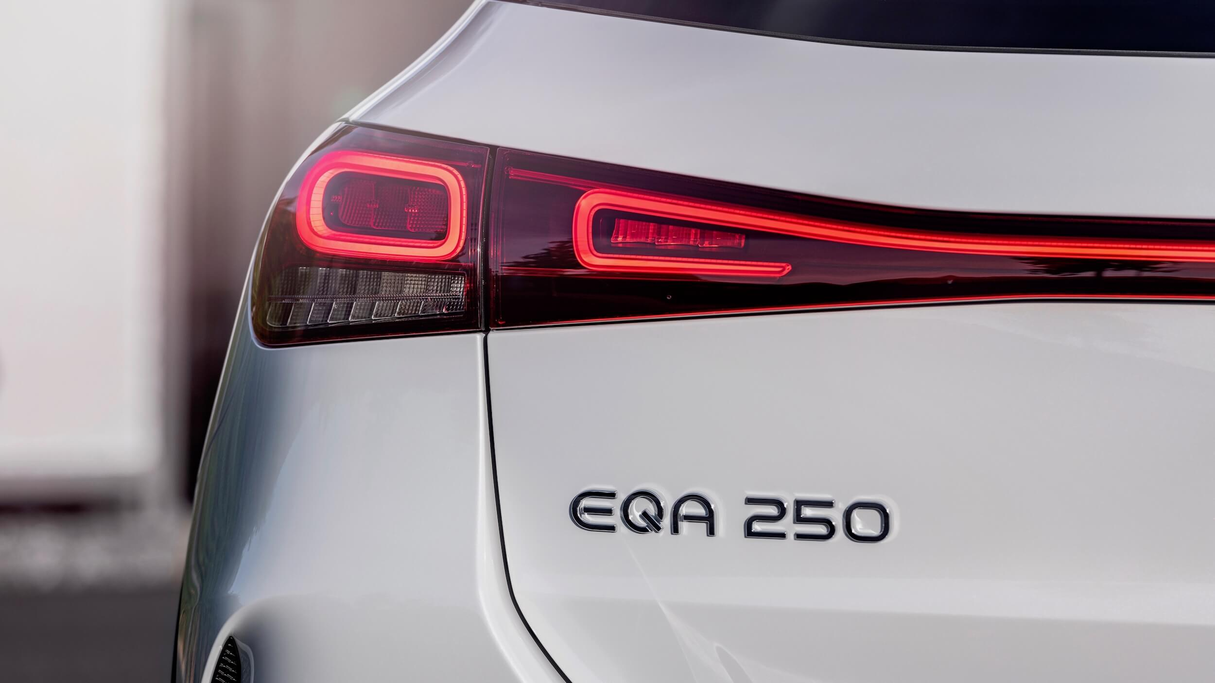 Mercedes EQA 250 badge