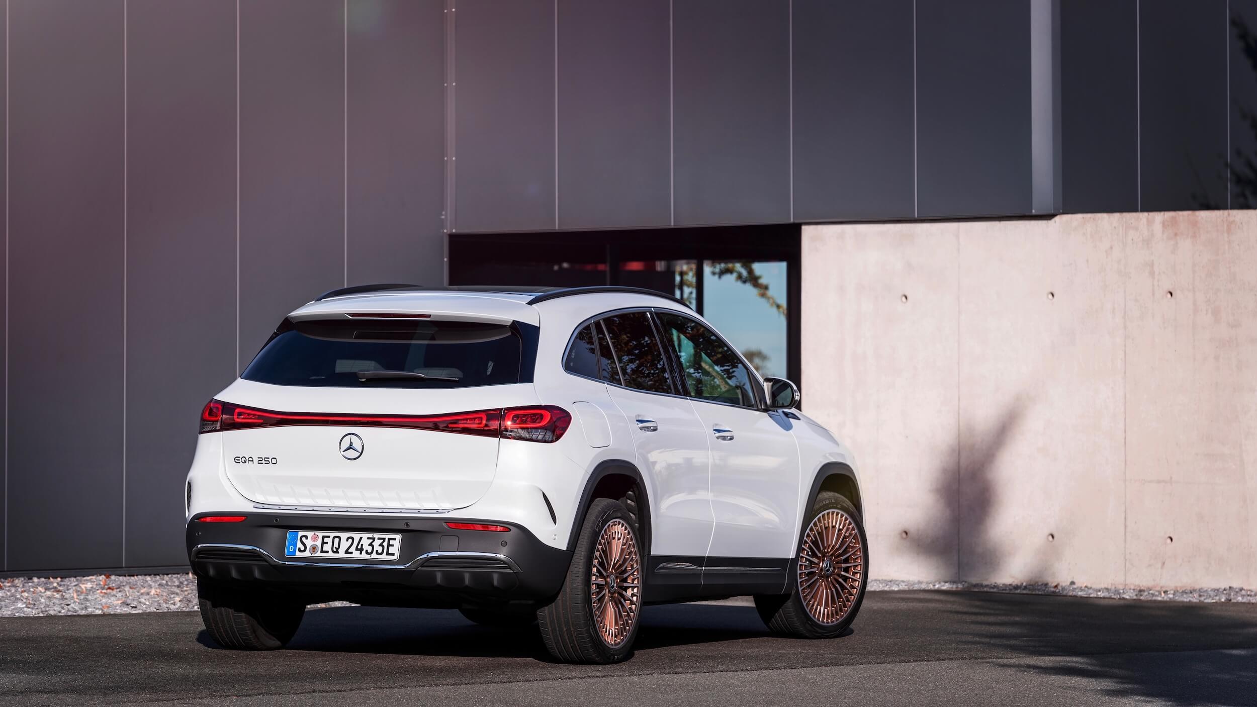 Mercedes EQA elektrisch