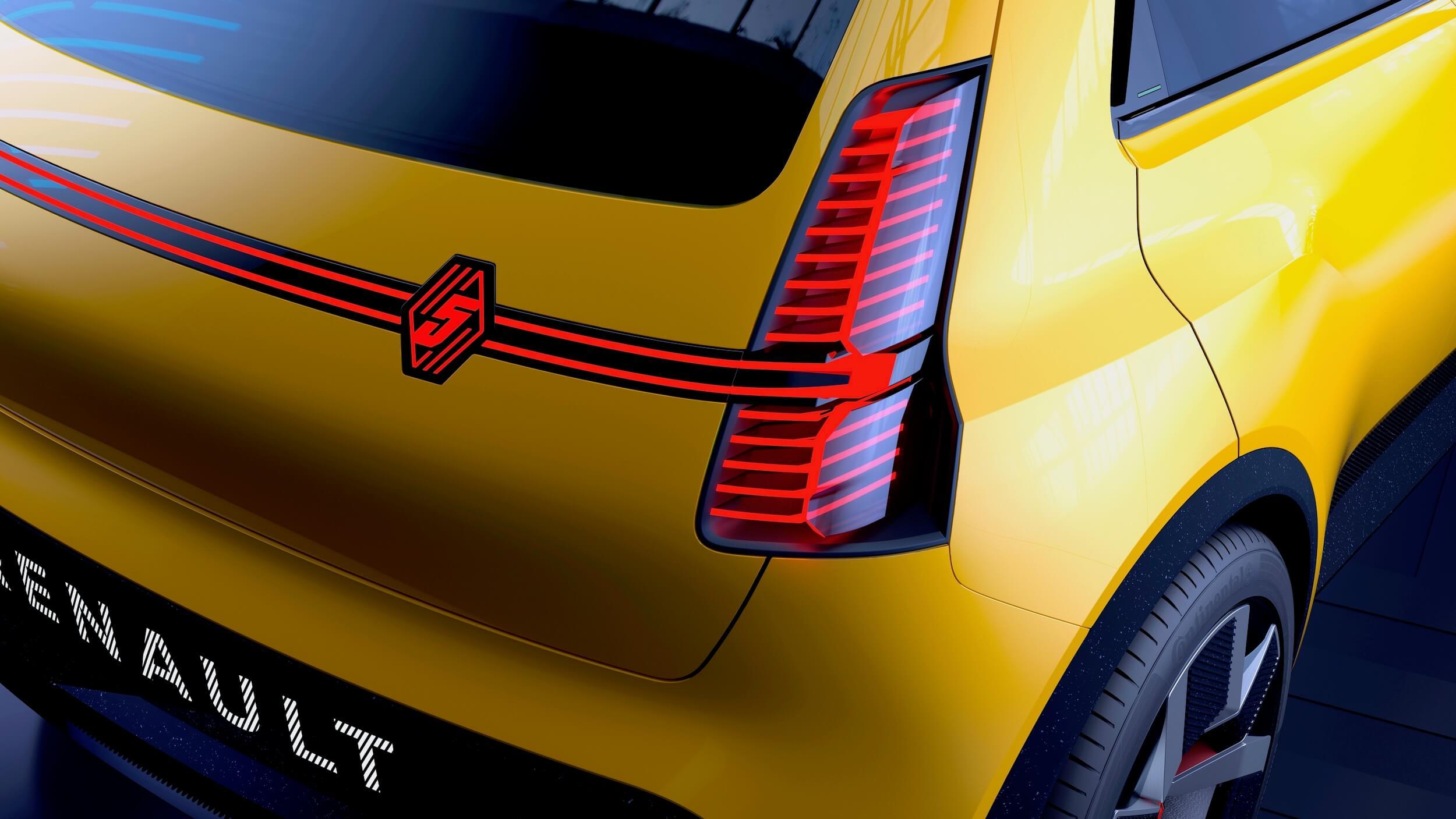 Renault 5 Prototype detail