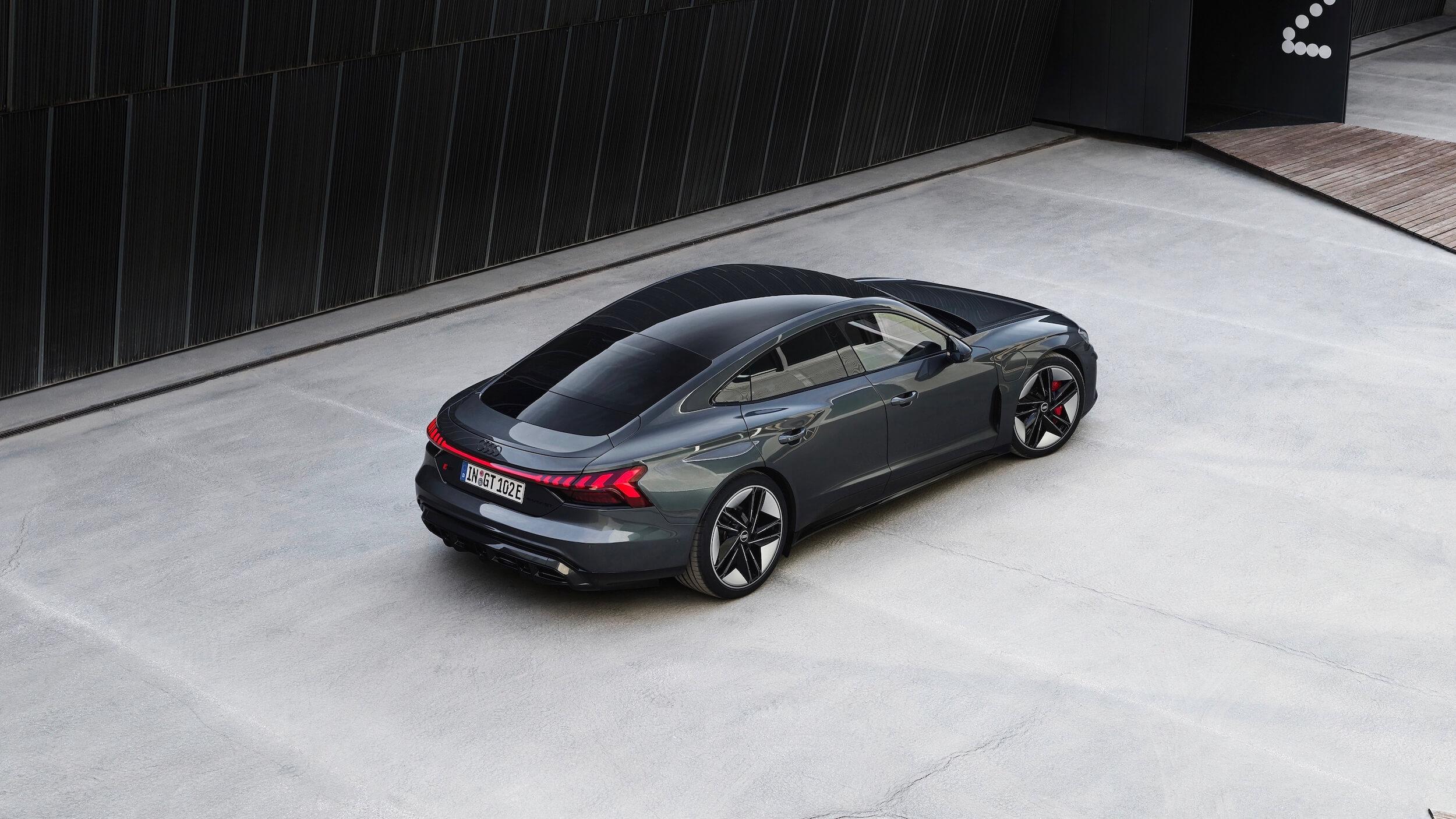 Audi e tron GT RS elektrische sportwagen